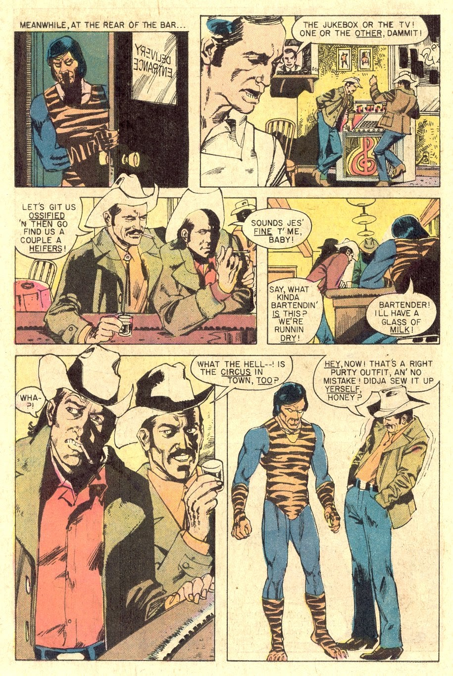 Read online Tiger-Man comic -  Issue #1 - 26