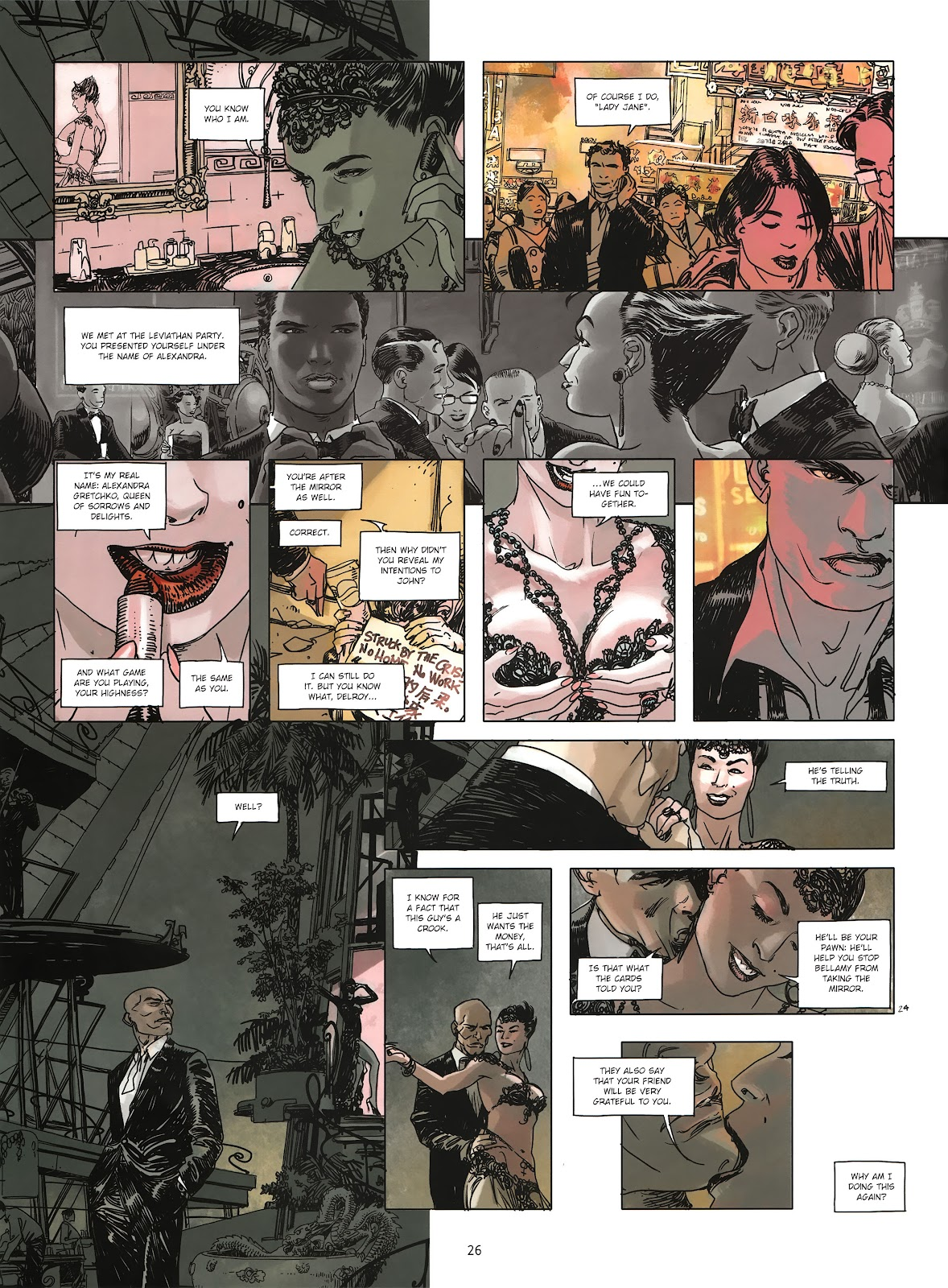 Read online Cutting Edge (2013) comic -  Issue #3 - 24
