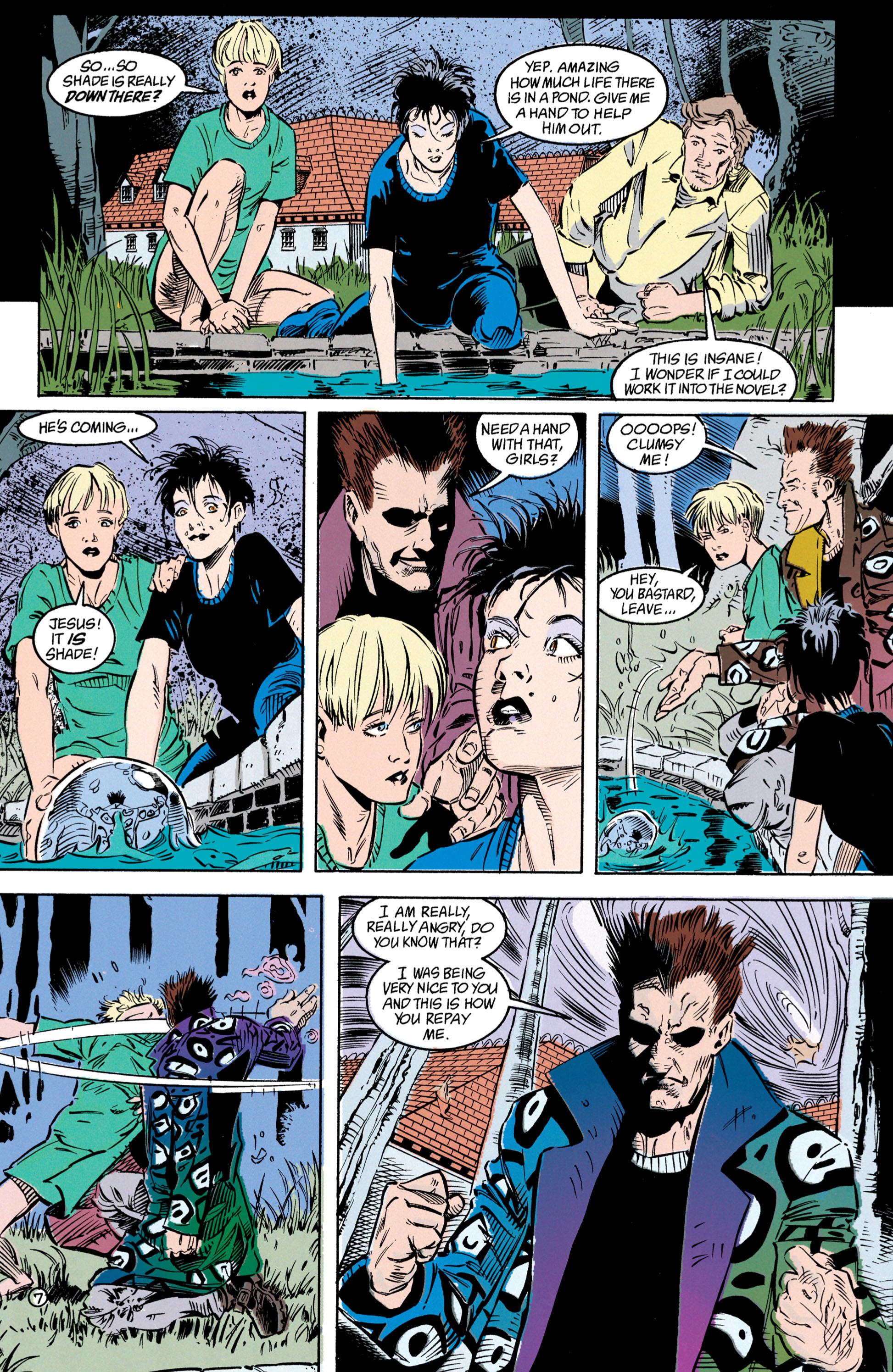 Read online Shade, the Changing Man comic -  Issue #39 - 8