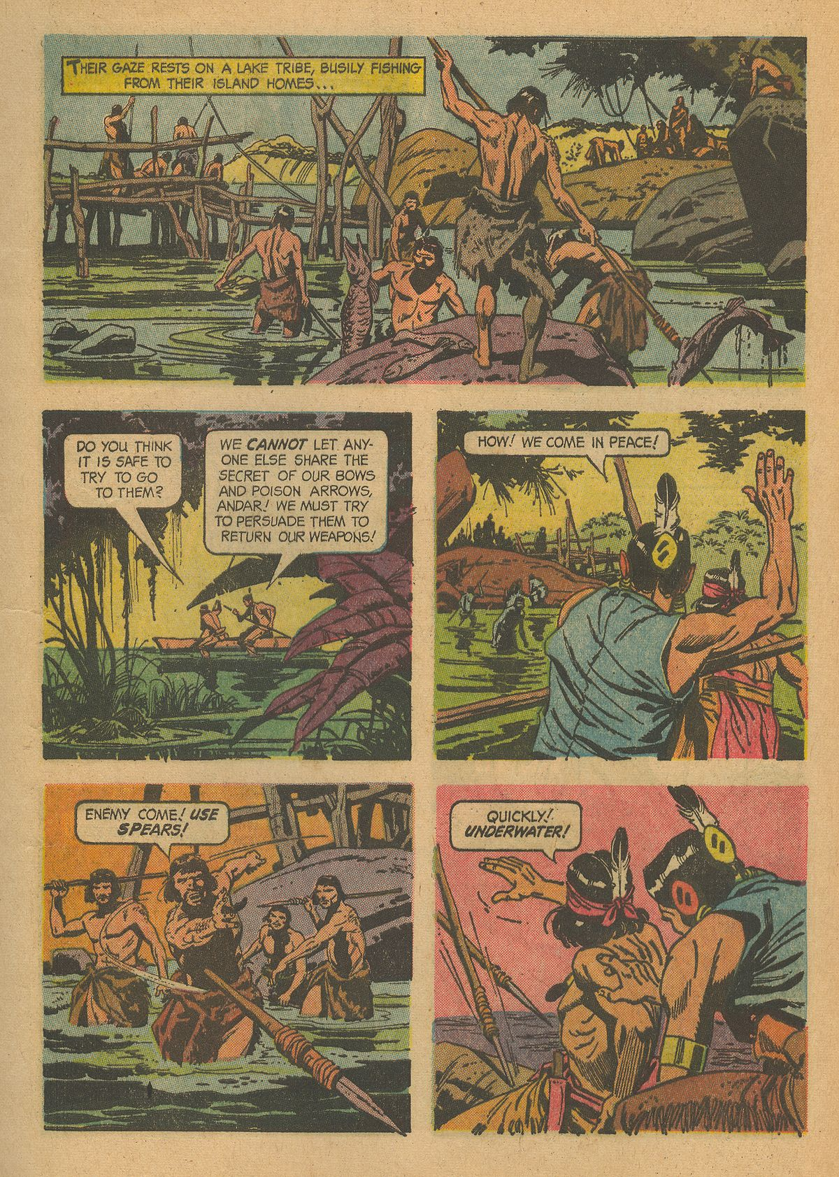 Read online Turok, Son of Stone comic -  Issue #43 - 9