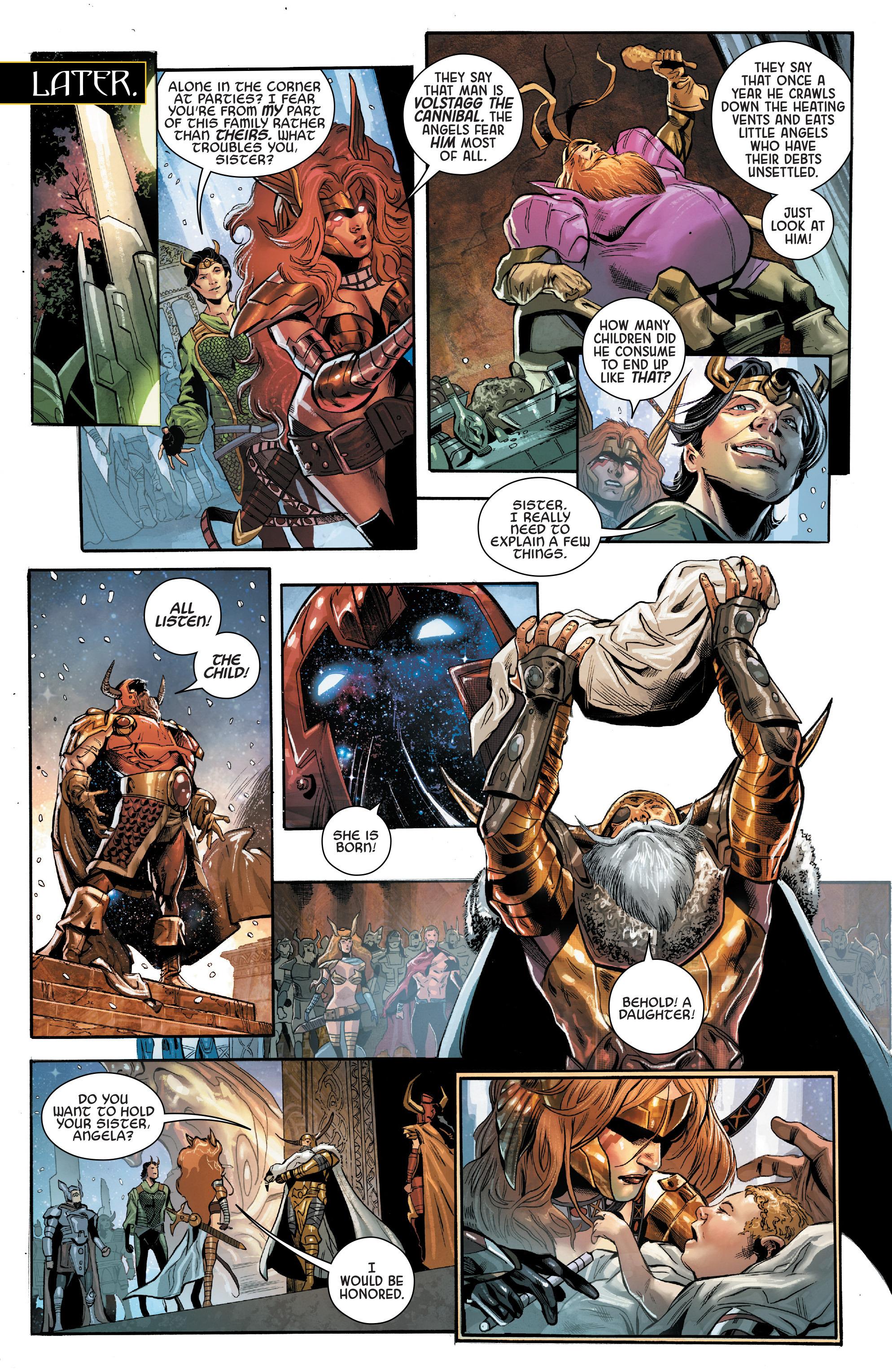 Read online Angela: Asgard's Assassin comic -  Issue #2 - 9