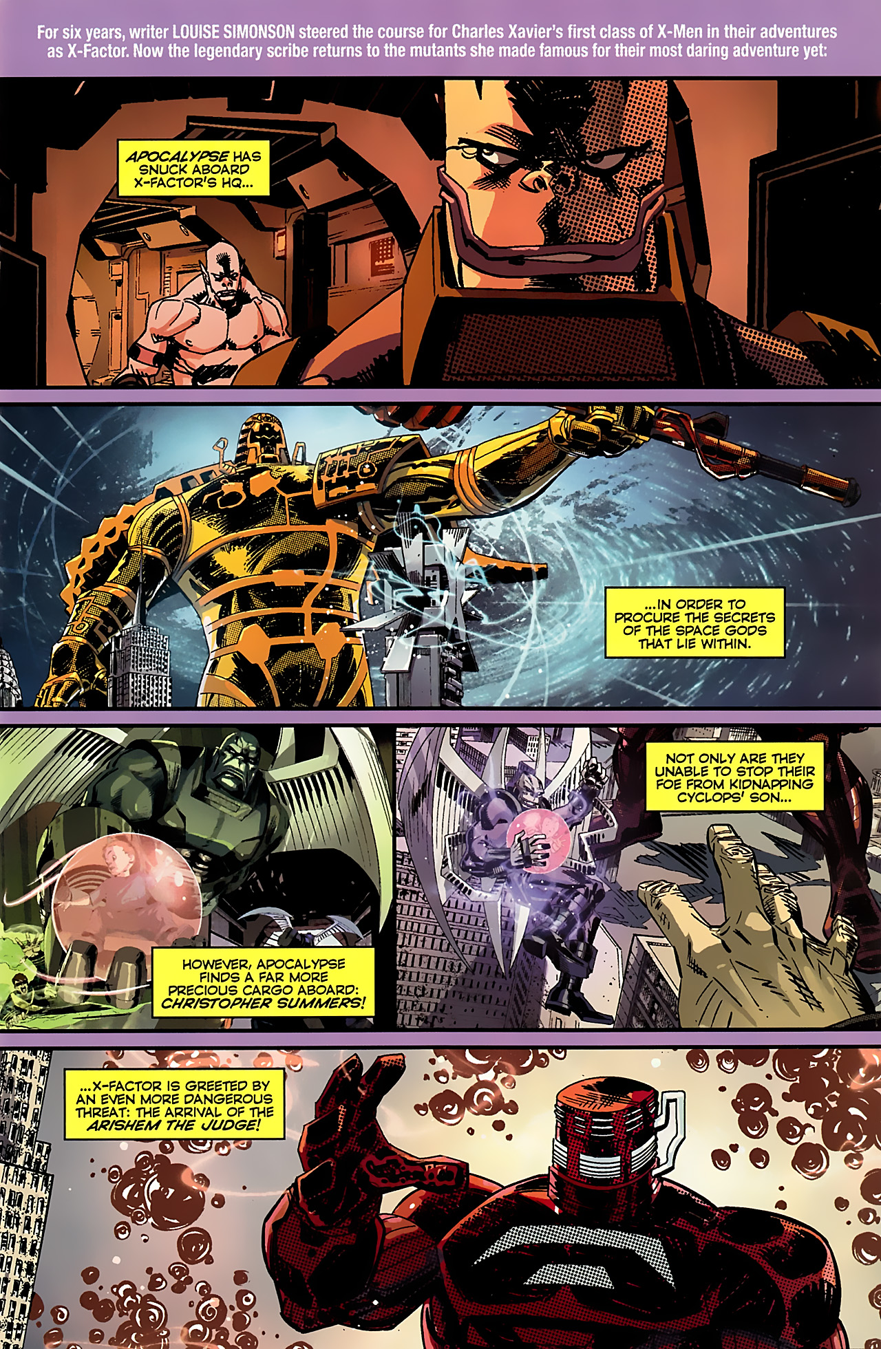Read online X-Factor Forever comic -  Issue #4 - 2