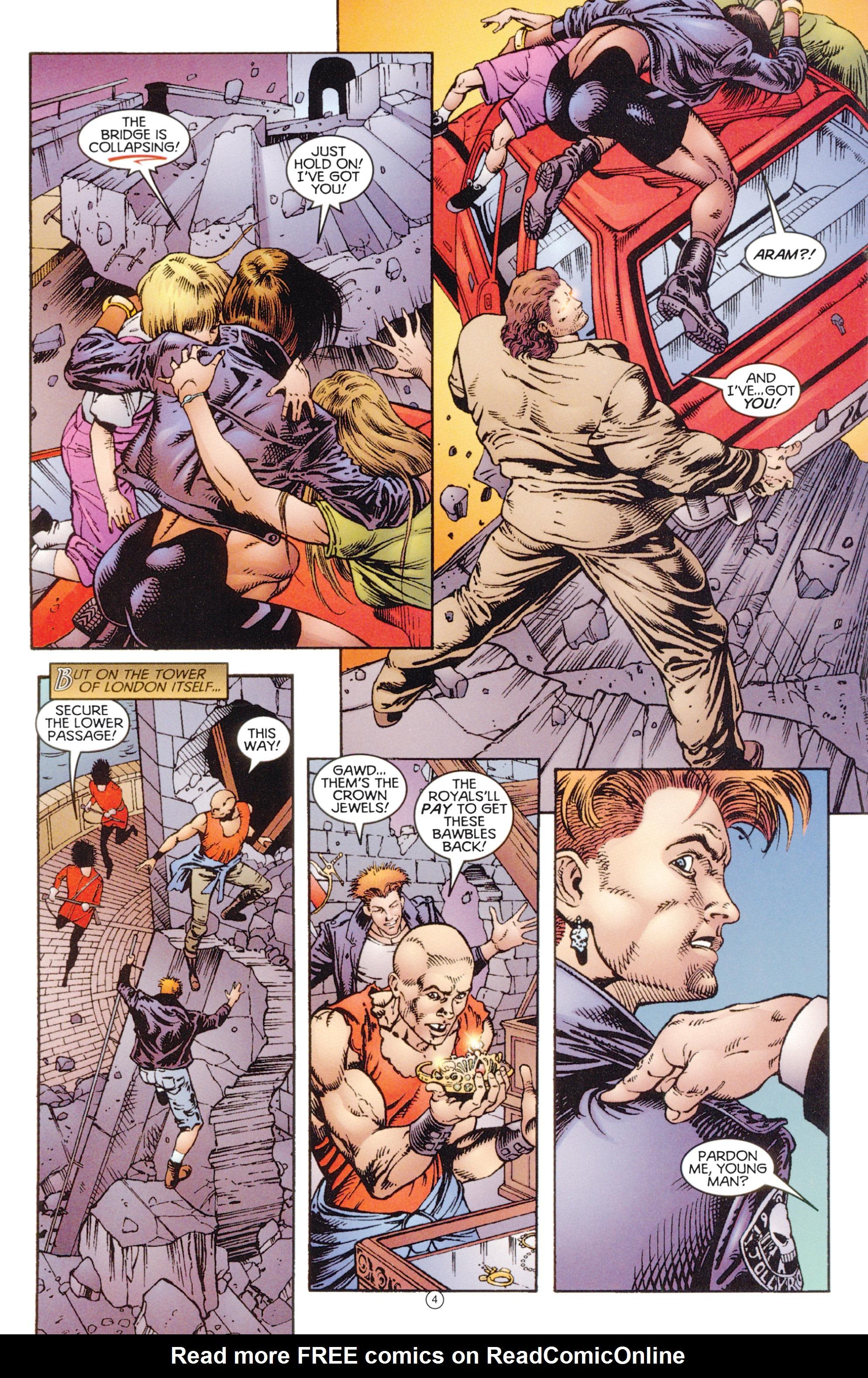 Read online Eternal Warriors comic -  Issue # Issue Digital Alchemy - 5
