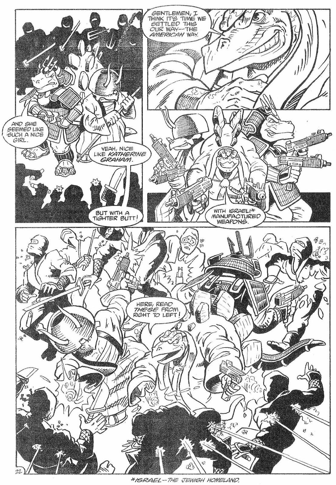 Dinosaurs For Hire (1988) issue 8 - Page 24