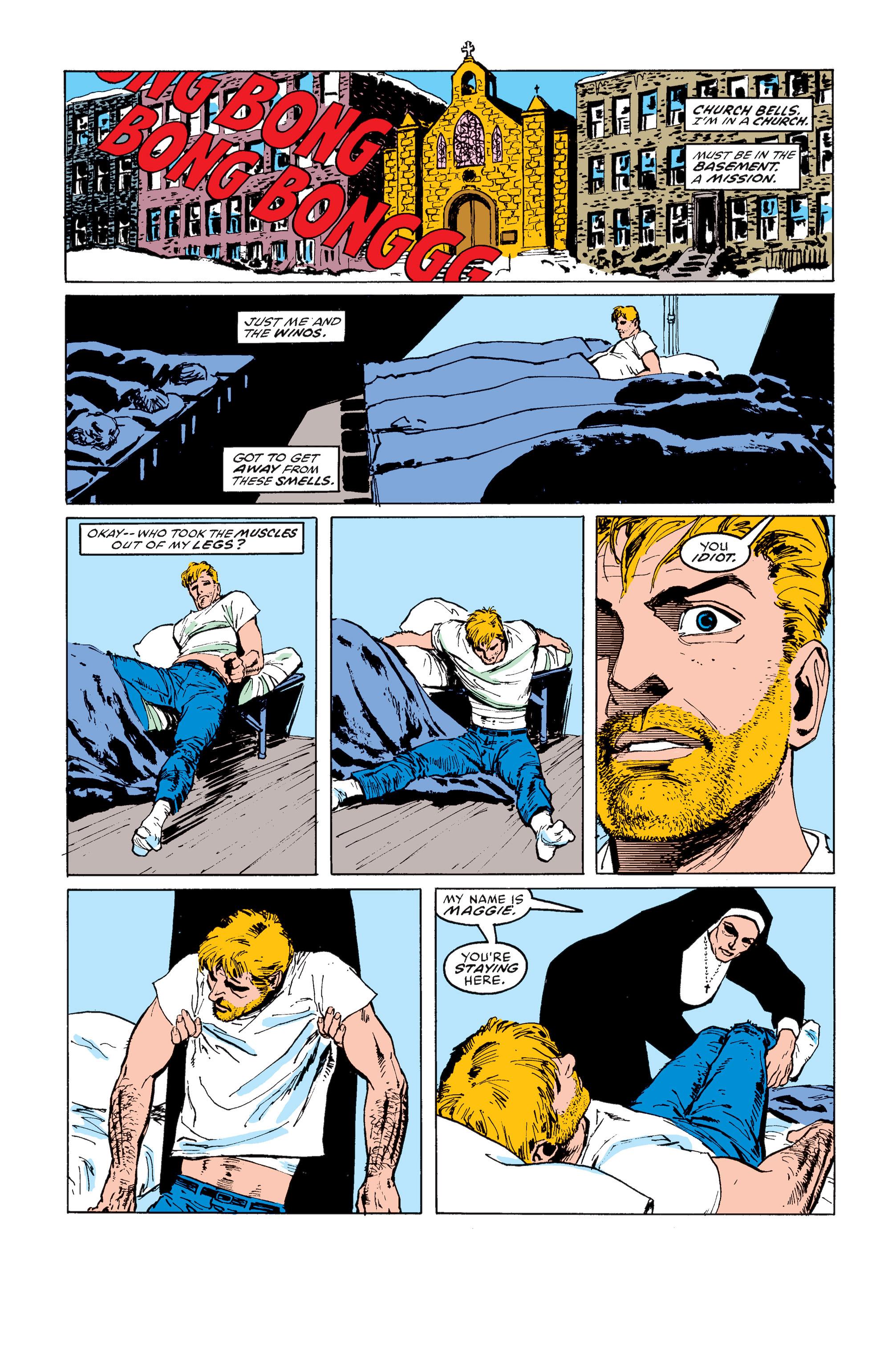Read online Daredevil: Born Again comic -  Issue # Full - 107