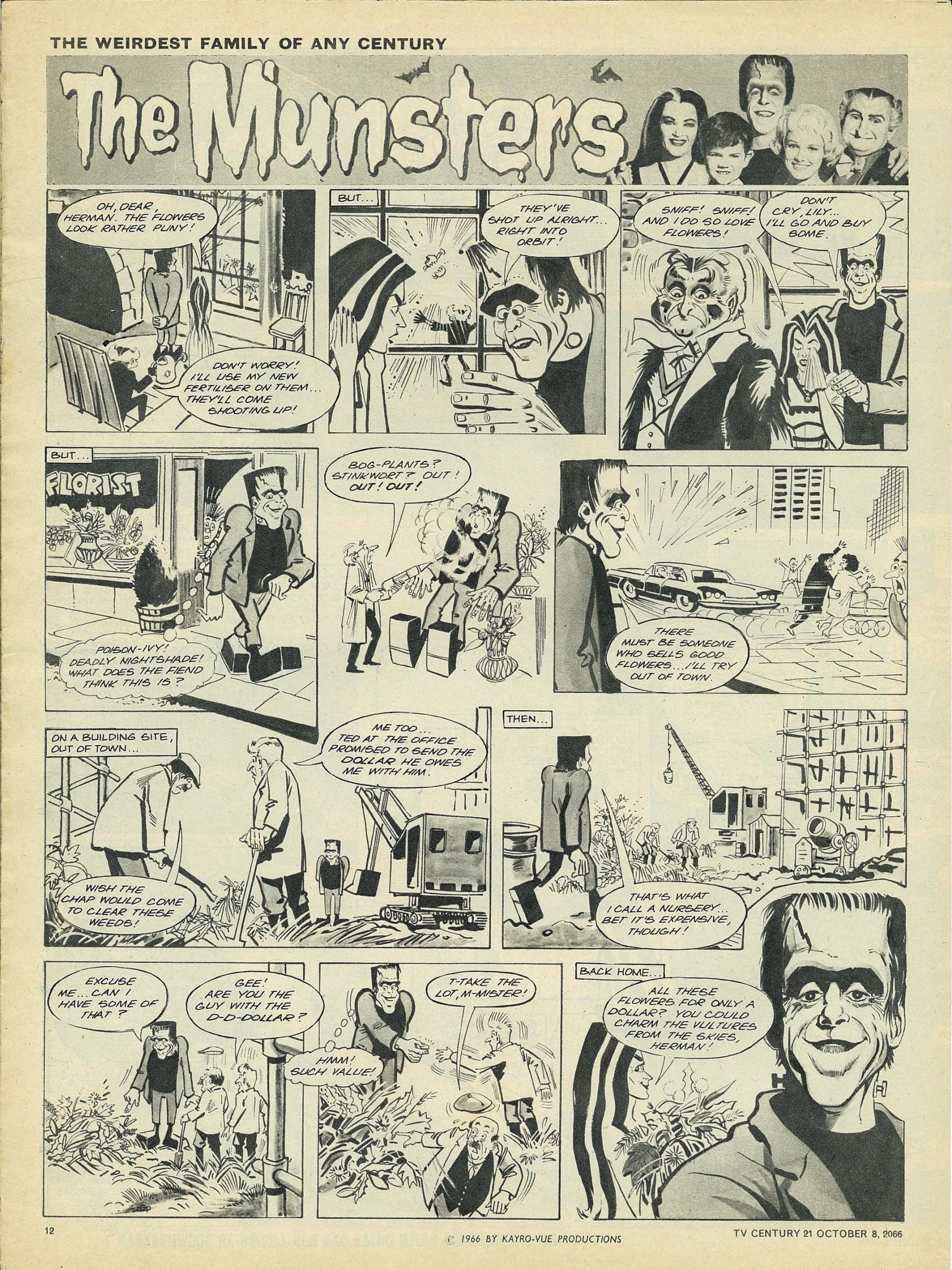 Read online TV Century 21 (TV 21) comic -  Issue #90 - 11