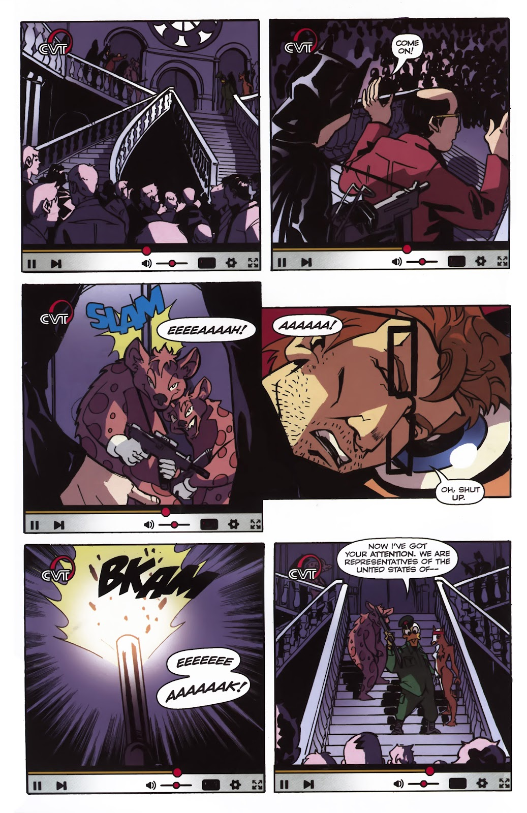 Read online Ricky Rouse Has A Gun comic -  Issue # TPB (Part 1) - 73
