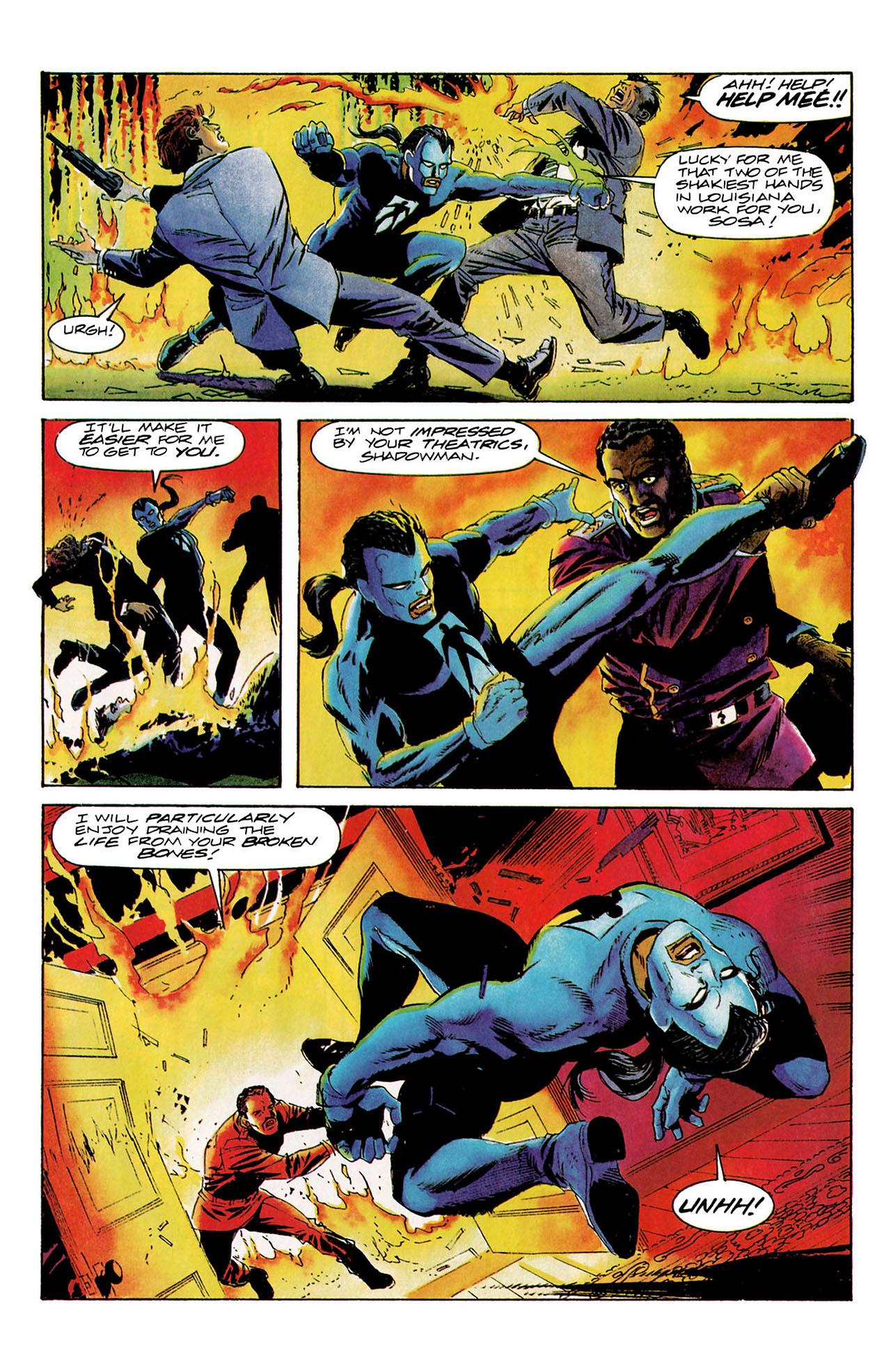 Read online Shadowman (1992) comic -  Issue #9 - 19