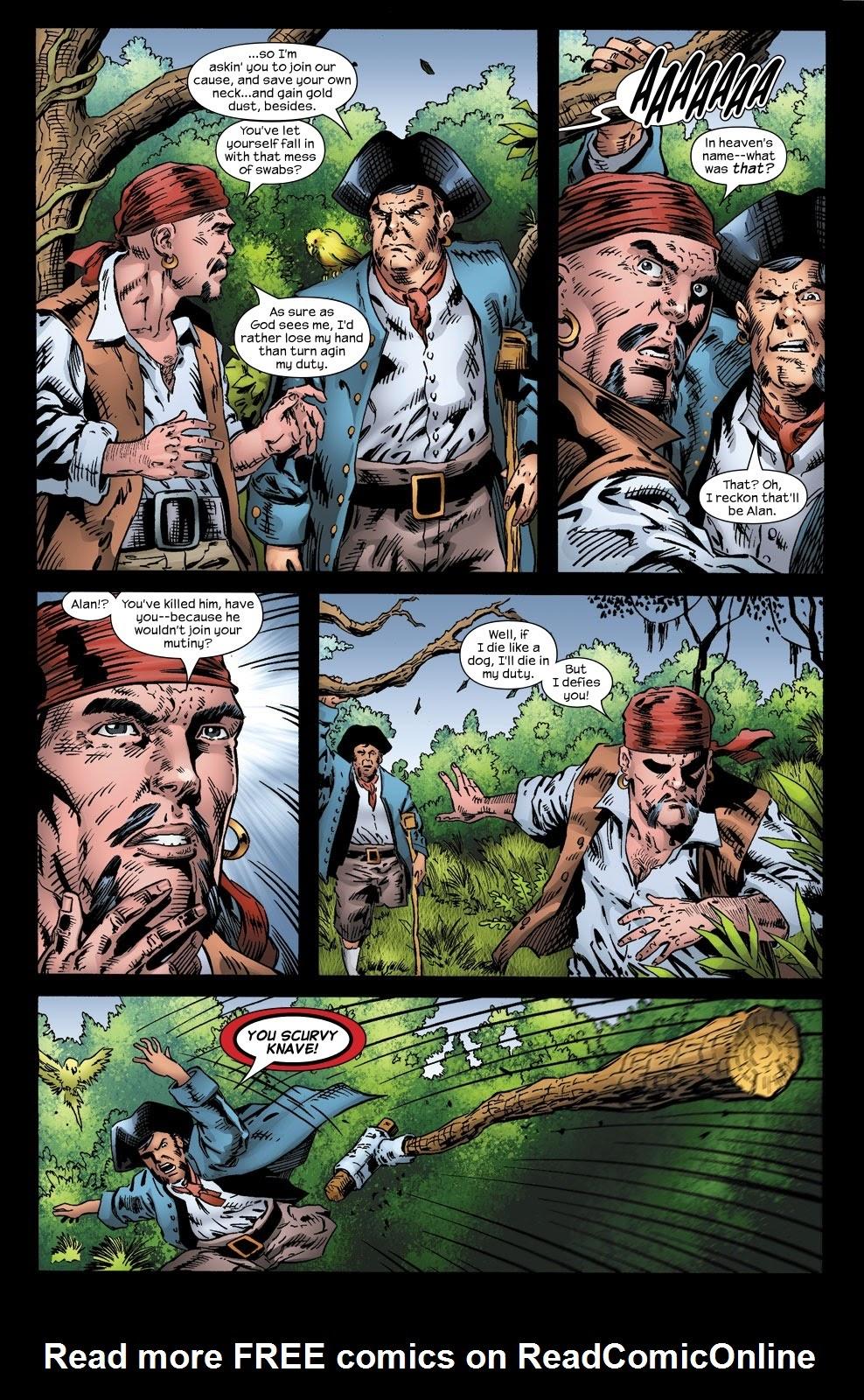 Read online Treasure Island comic -  Issue #3 - 8