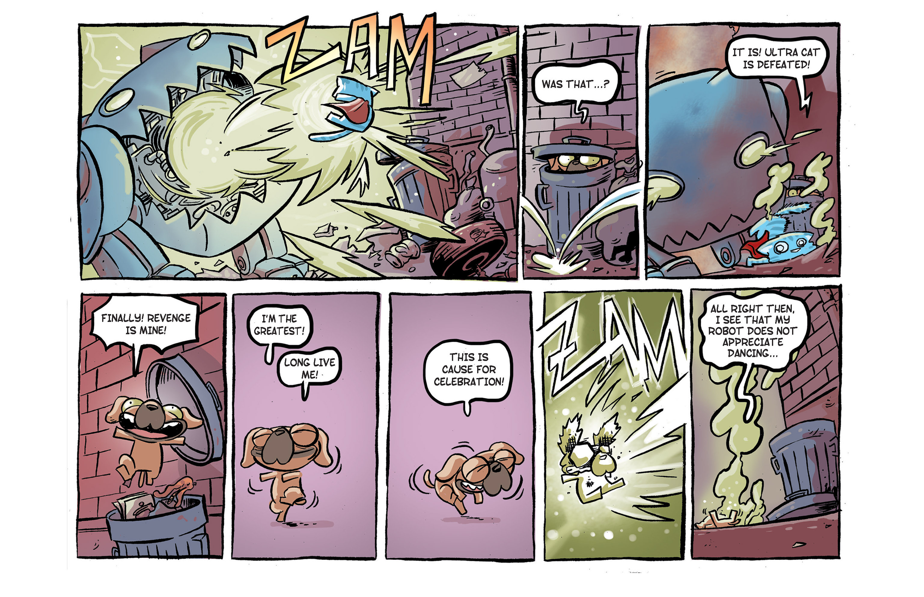 Read online Ultracat comic -  Issue #2 - 24