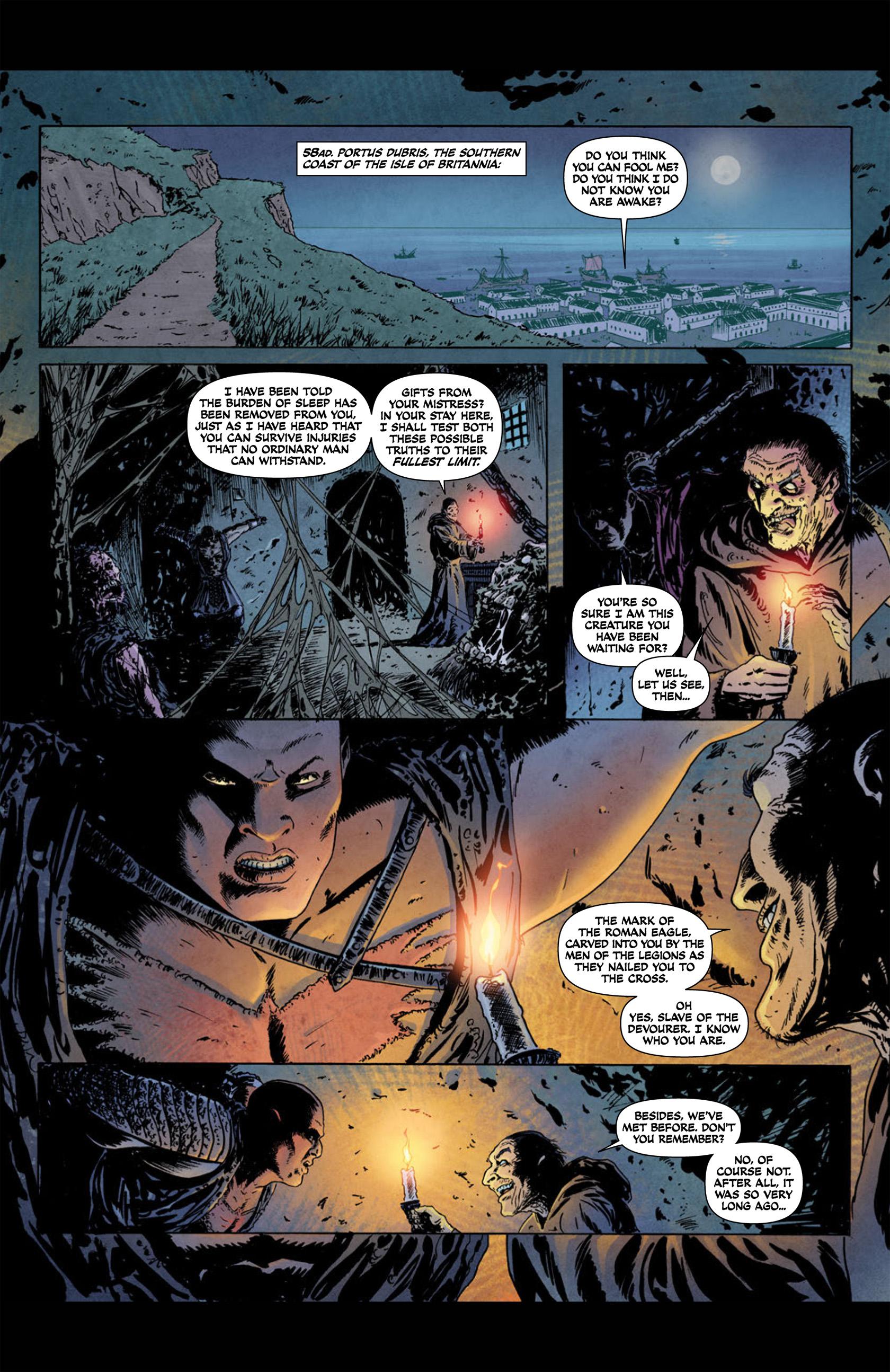 Read online Aquila comic -  Issue #1 - 5