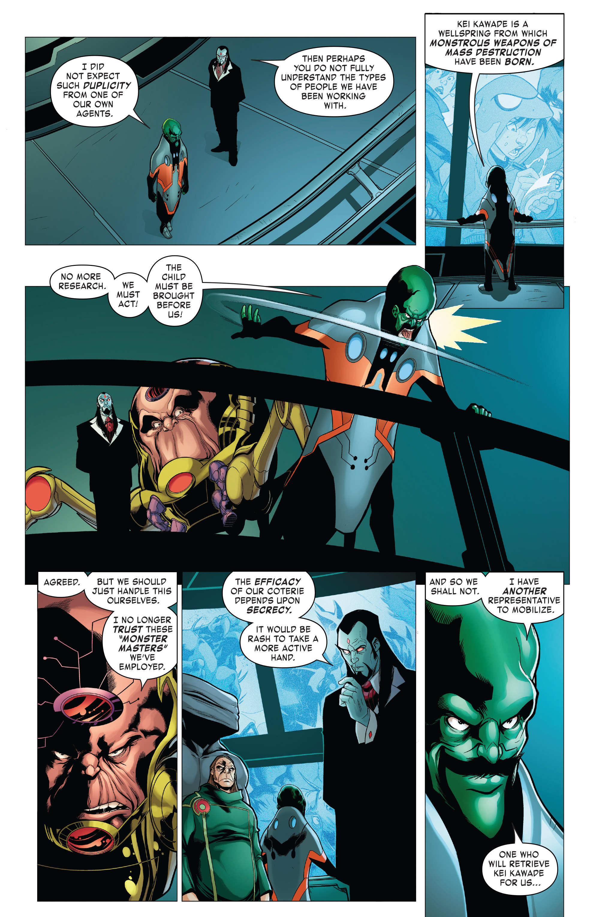 Read online Monsters Unleashed II comic -  Issue #2 - 10