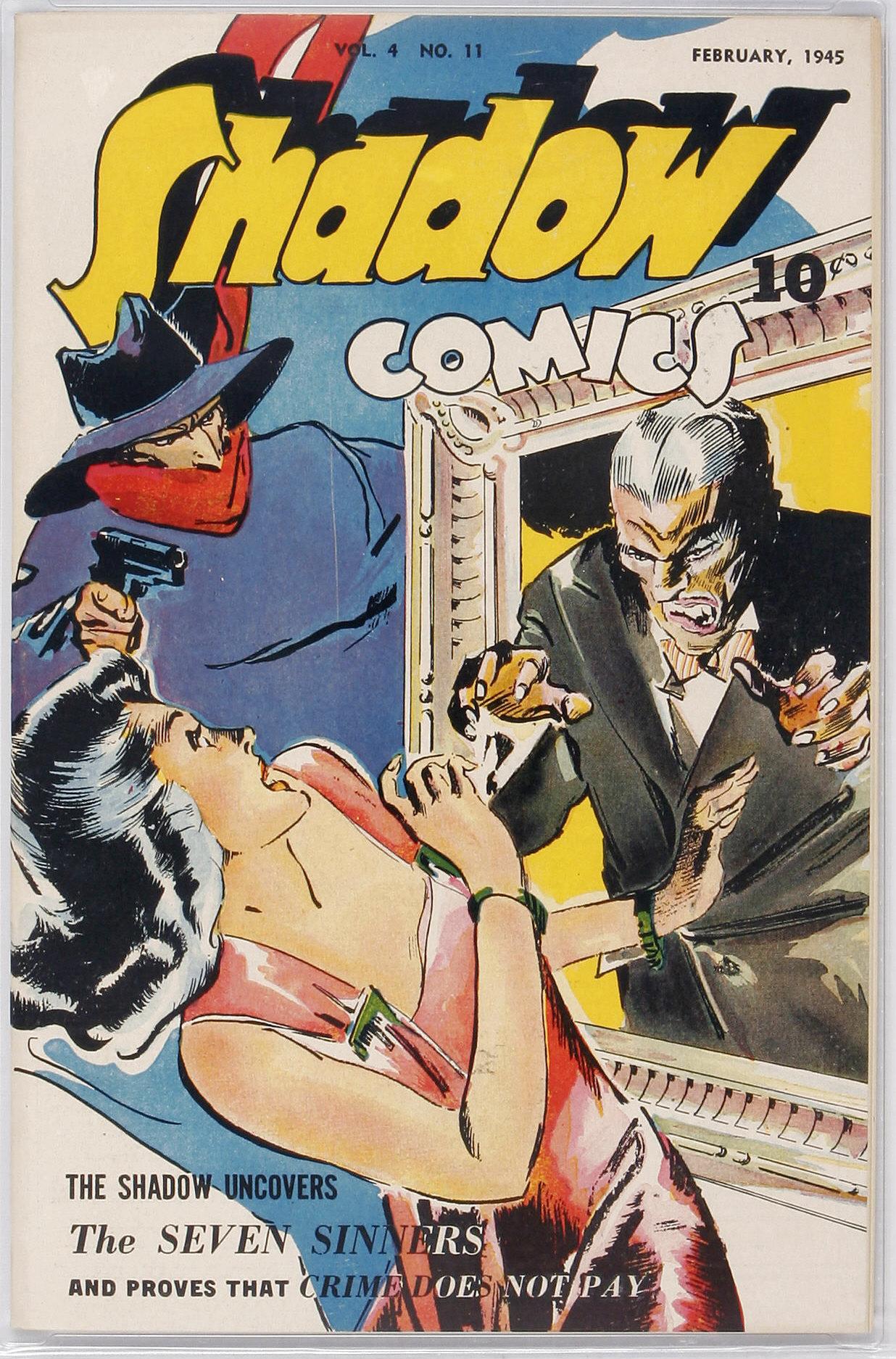 Read online Shadow Comics comic -  Issue #47 - 1