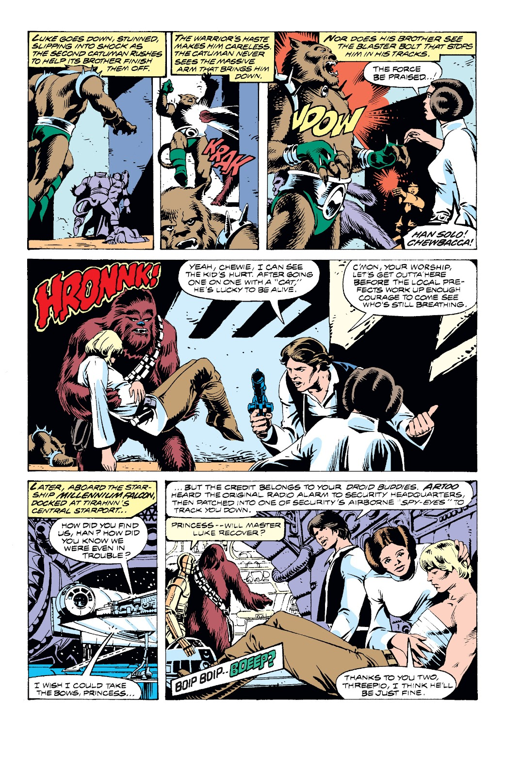 Read online Star Wars Legends: The Original Marvel Years - Epic Collection comic -  Issue # TPB 2 (Part 3) - 8