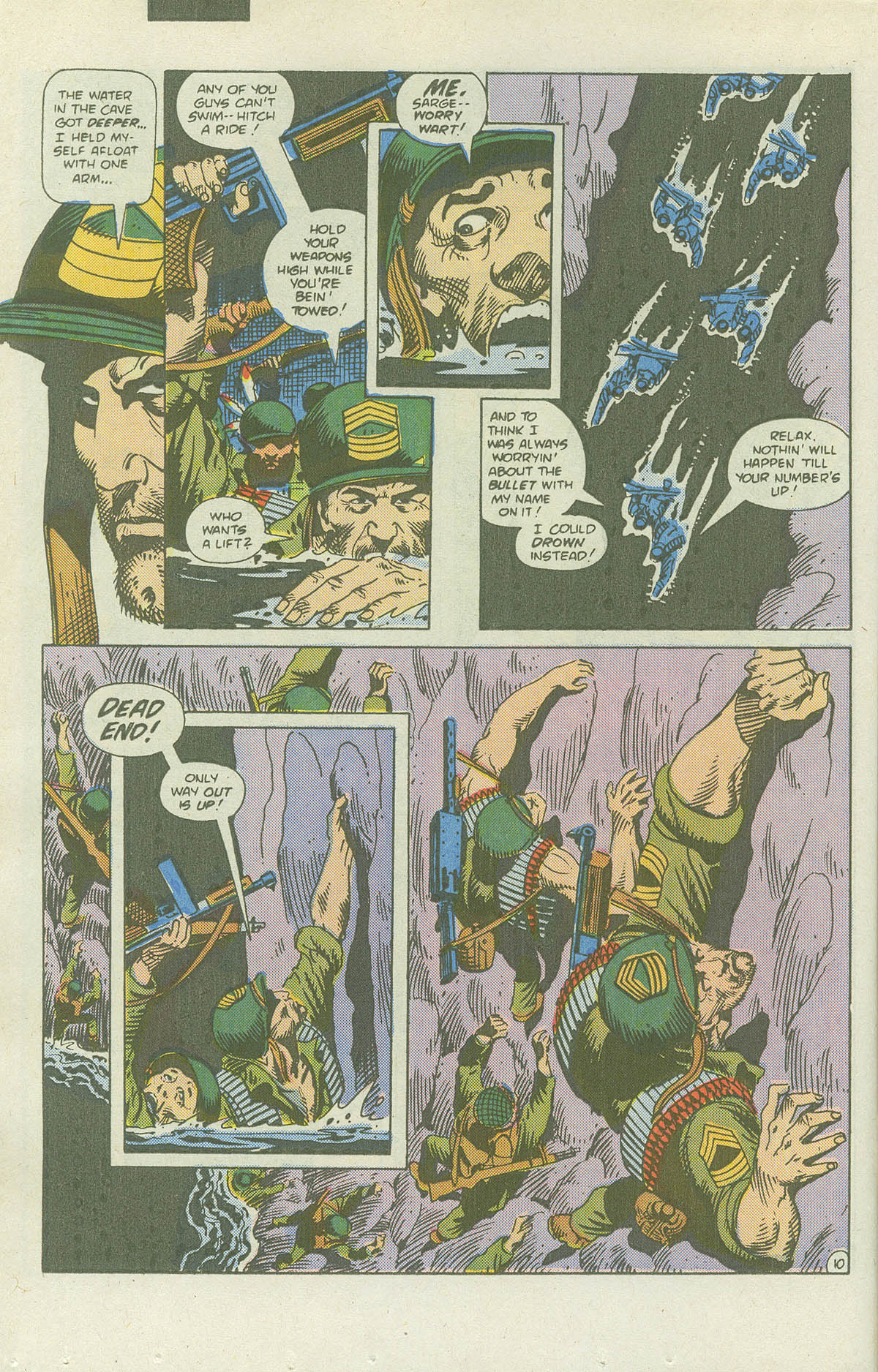 Read online Sgt. Rock comic -  Issue #415 - 15