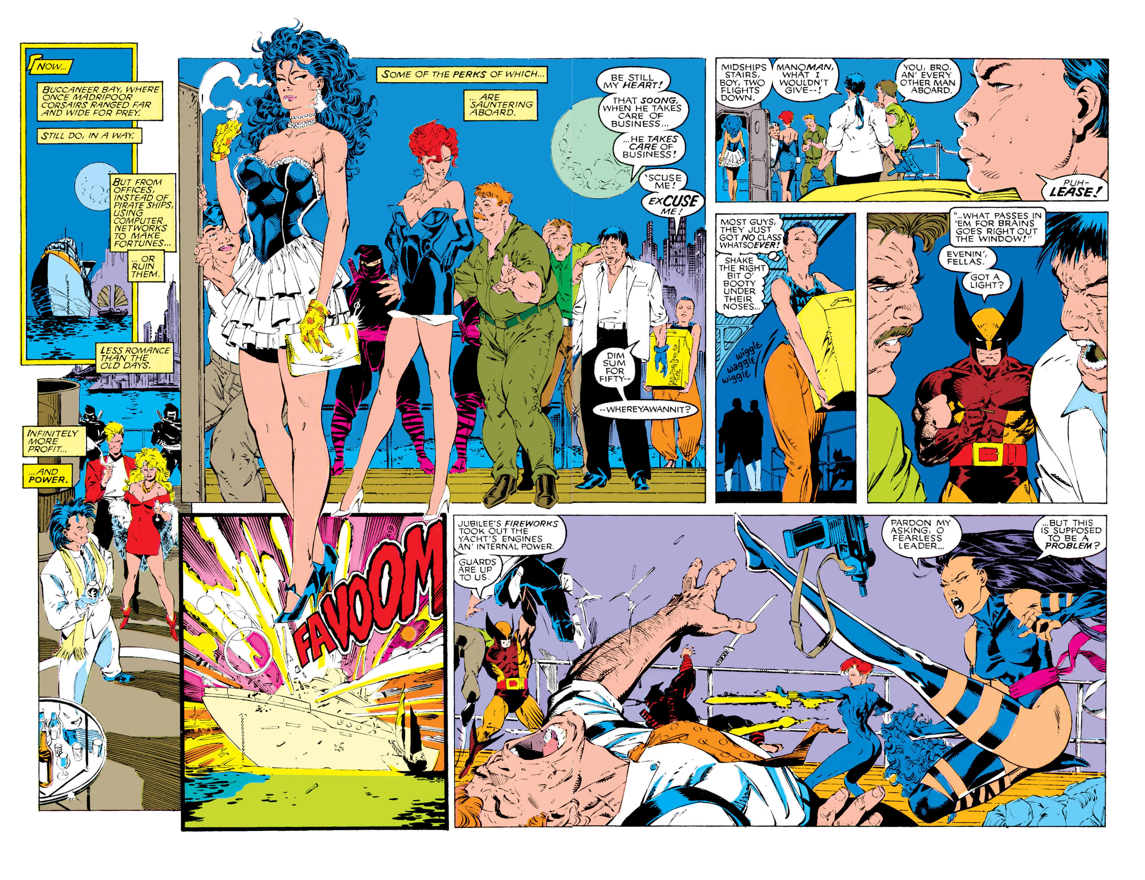 Read online Uncanny X-Men (1963) comic -  Issue #268 - 18