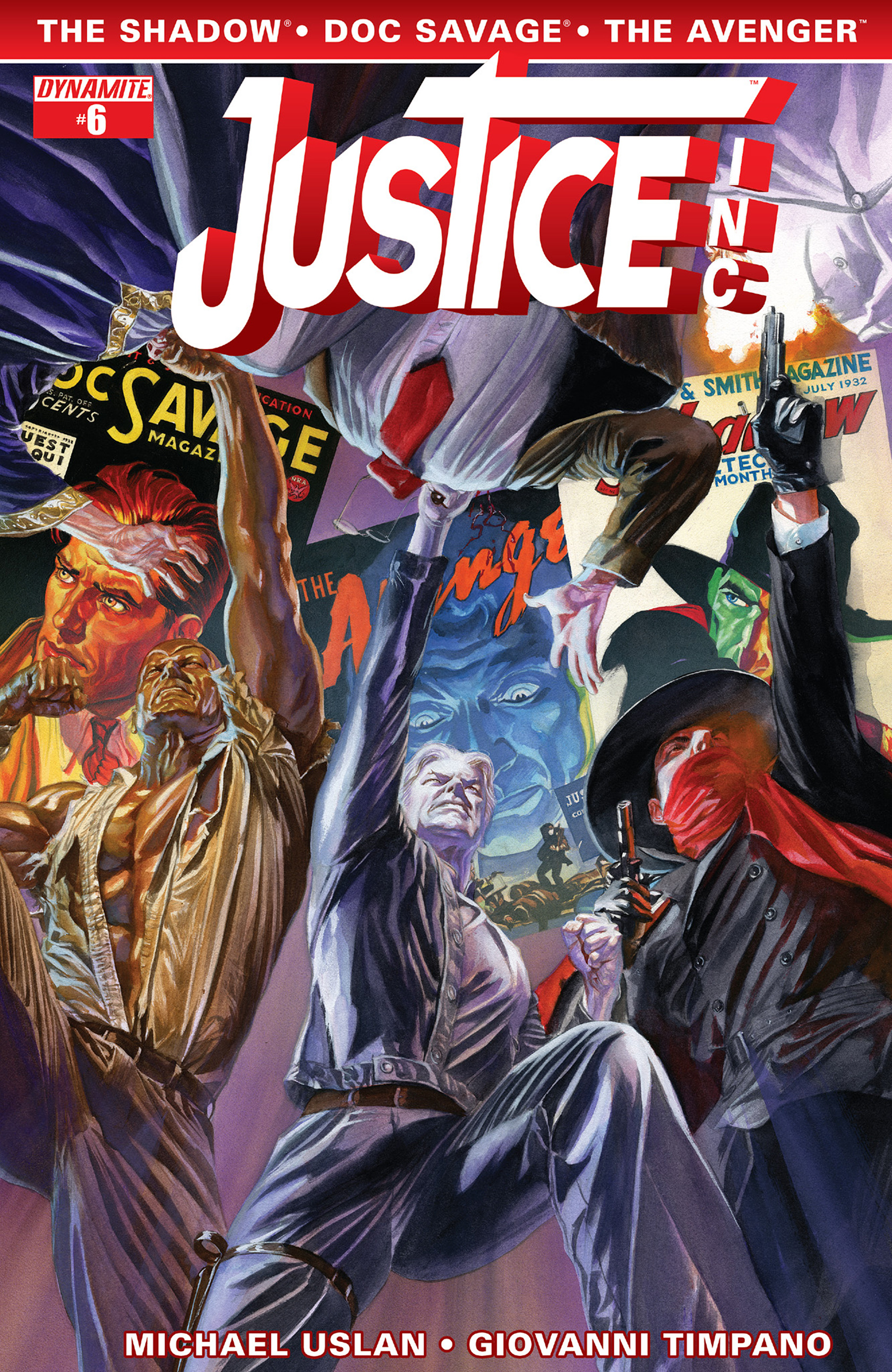 Justice, Inc. issue 6 - Page 1