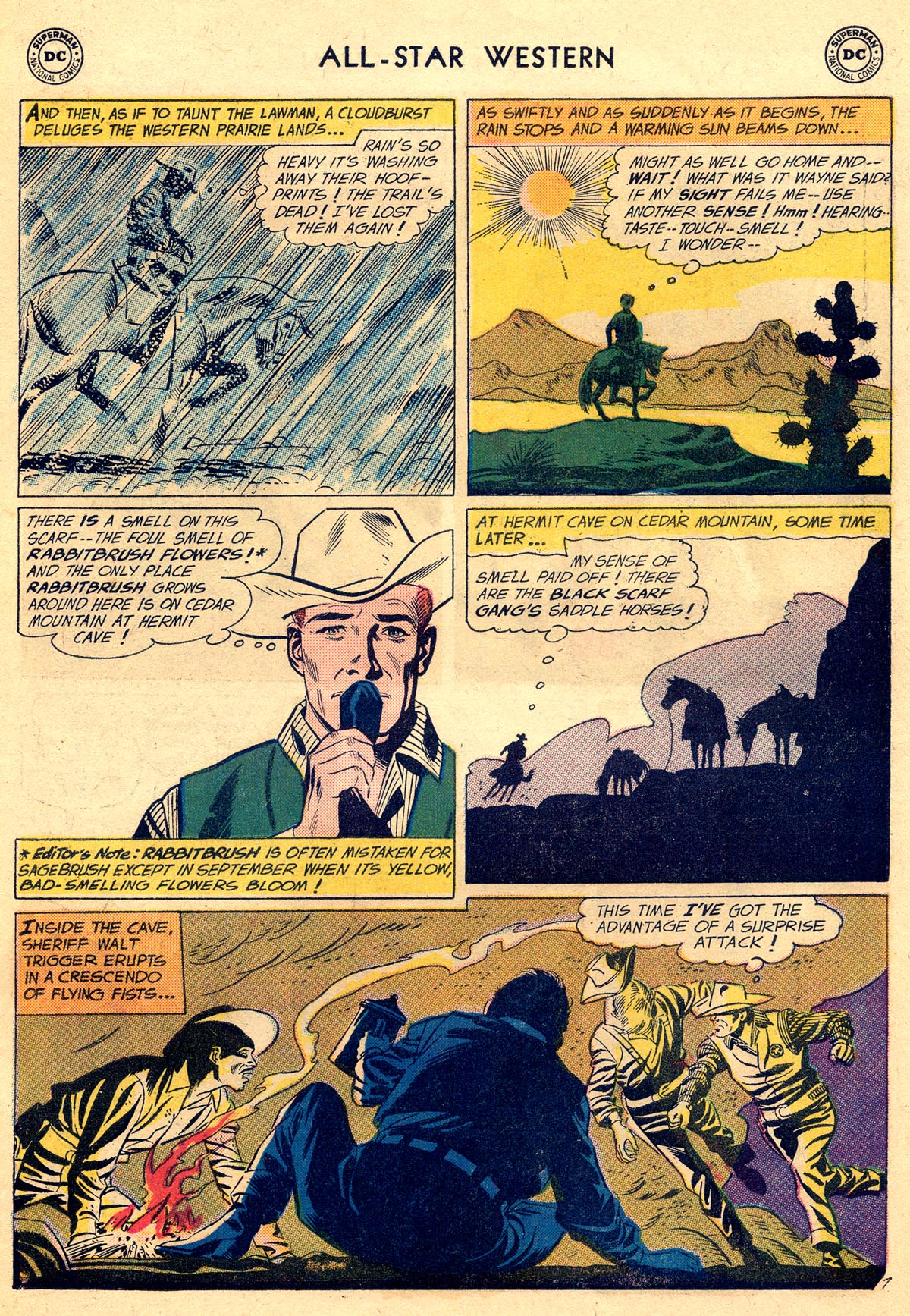 Read online All-Star Western (1951) comic -  Issue #109 - 31