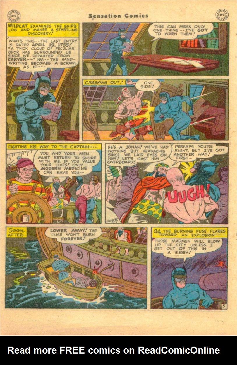 Read online Sensation (Mystery) Comics comic -  Issue #70 - 46