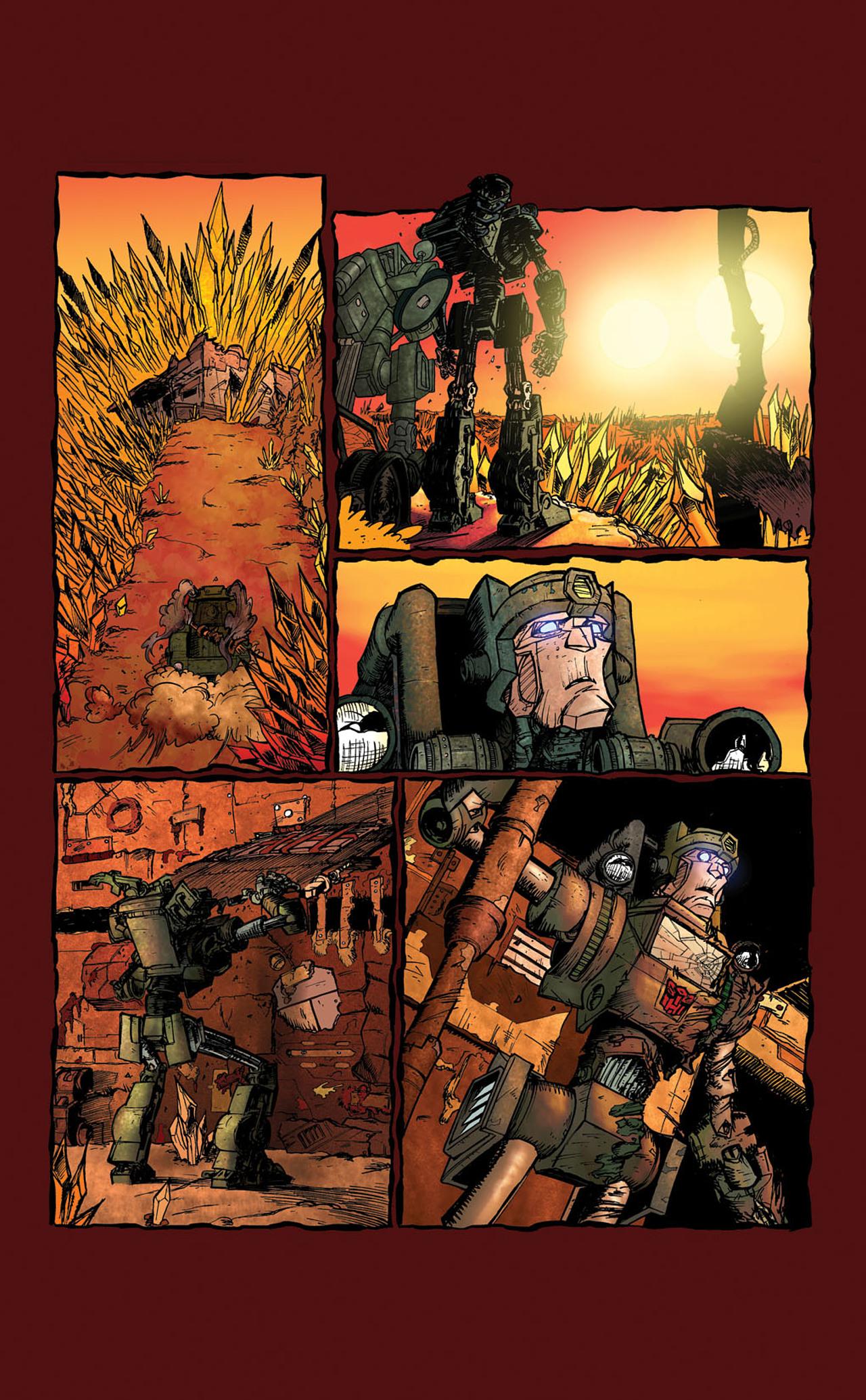 Read online Transformers Spotlight: Kup comic -  Issue # Full - 9