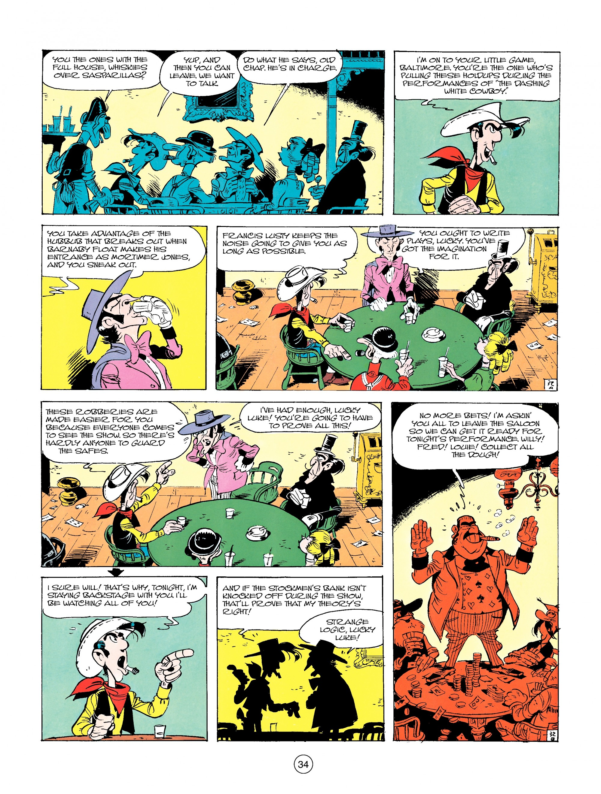 Read online A Lucky Luke Adventure comic -  Issue #14 - 34
