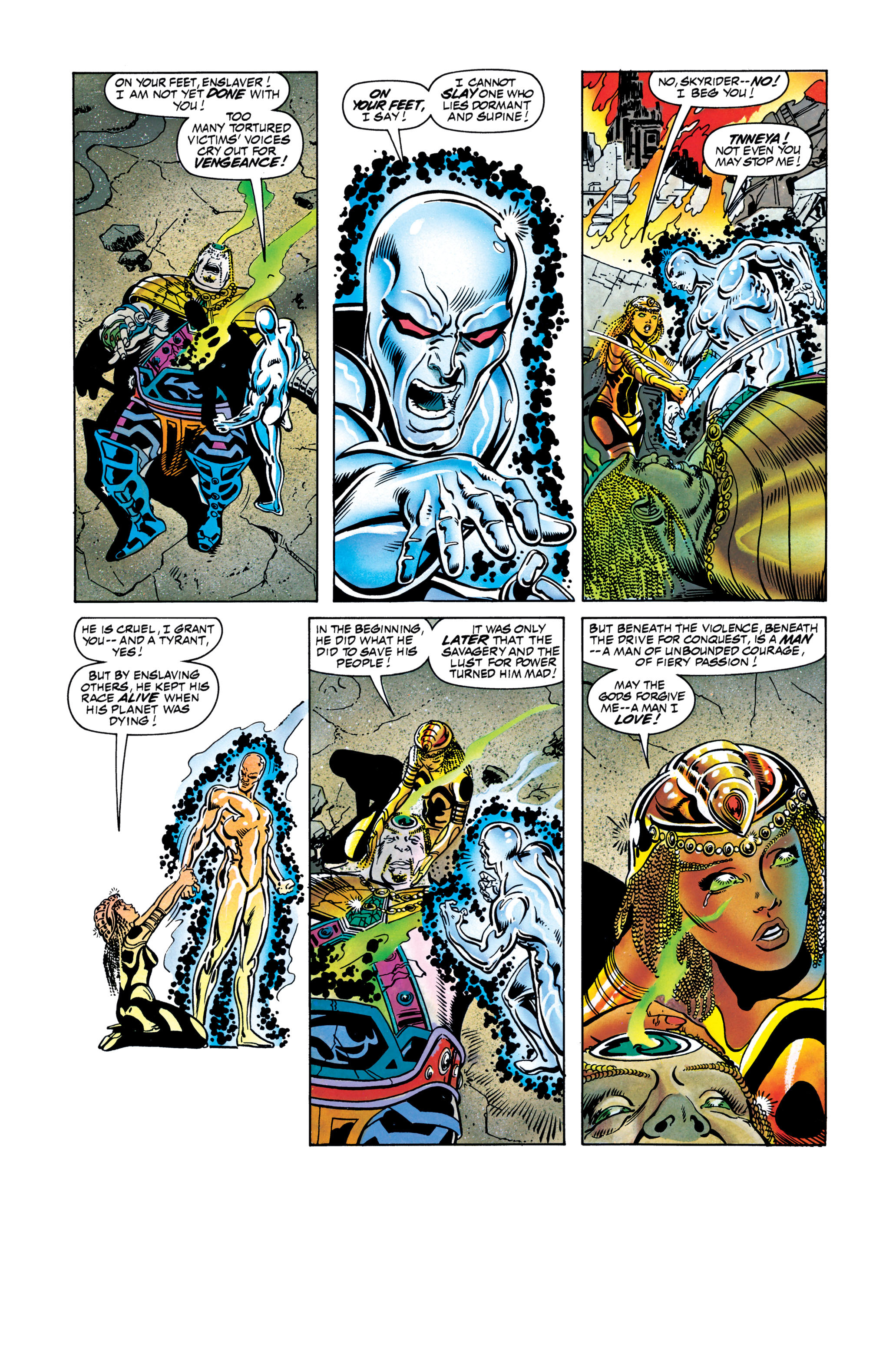 Read online Silver Surfer: Parable comic -  Issue # TPB - 127
