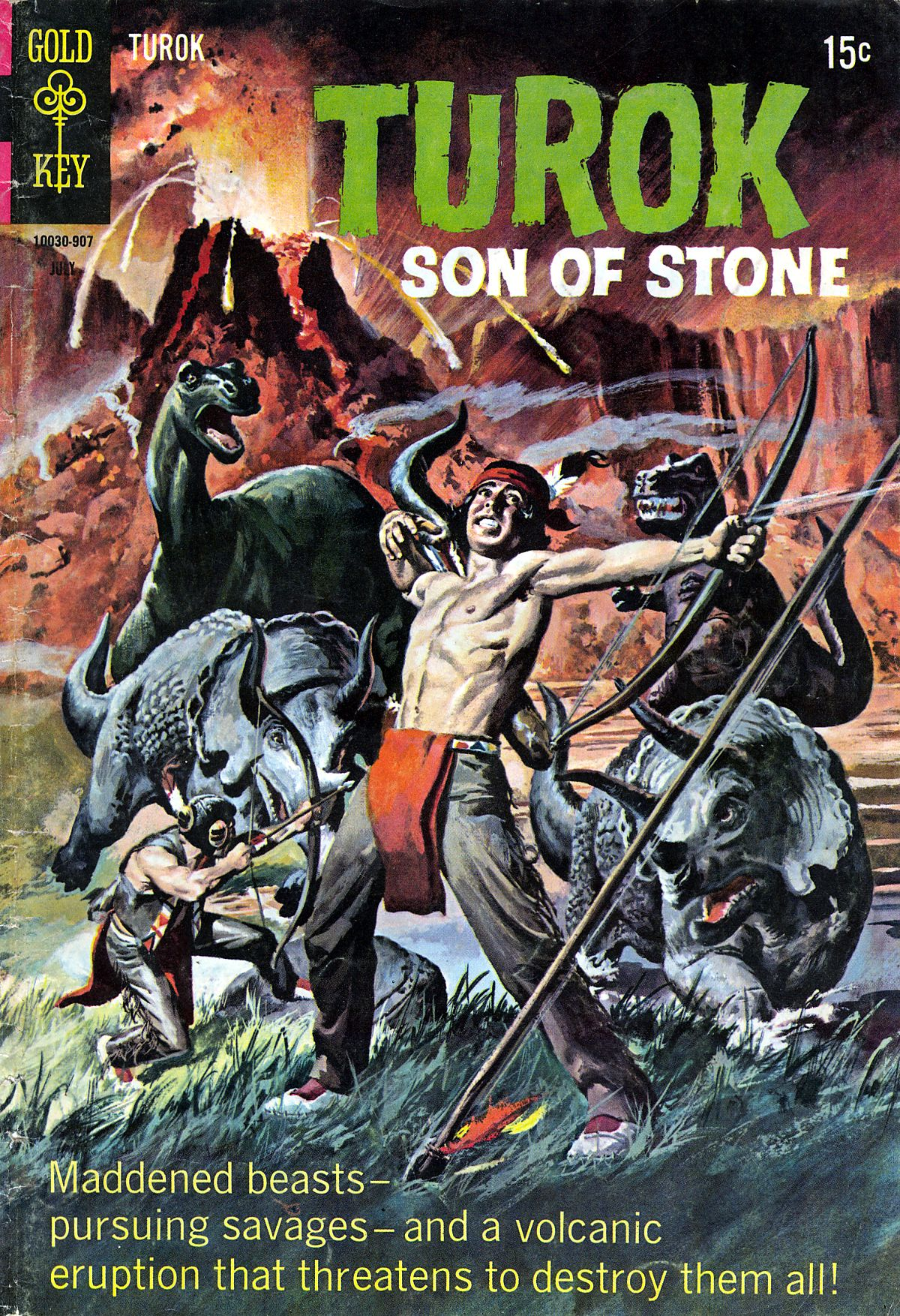 Read online Turok, Son of Stone comic -  Issue #66 - 1
