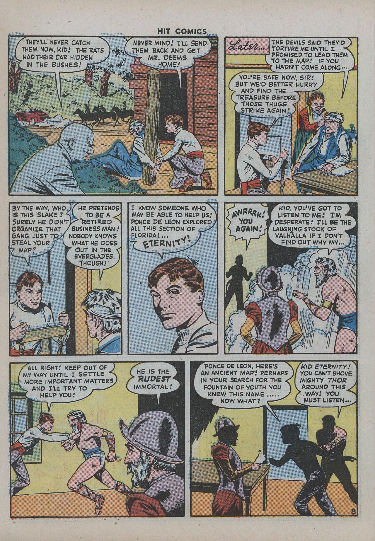 Read online Hit Comics comic -  Issue #38 - 13