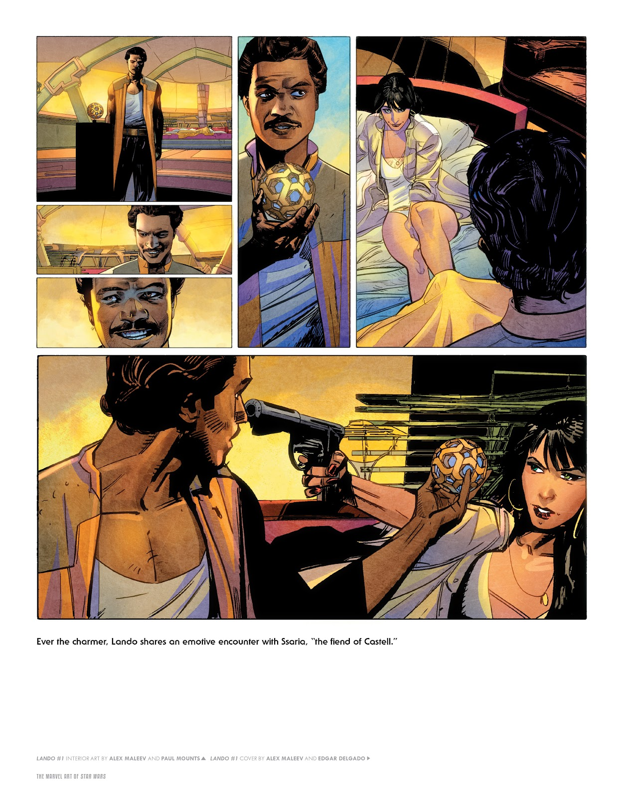 Read online The Marvel Art of Star Wars comic -  Issue # TPB (Part 2) - 58