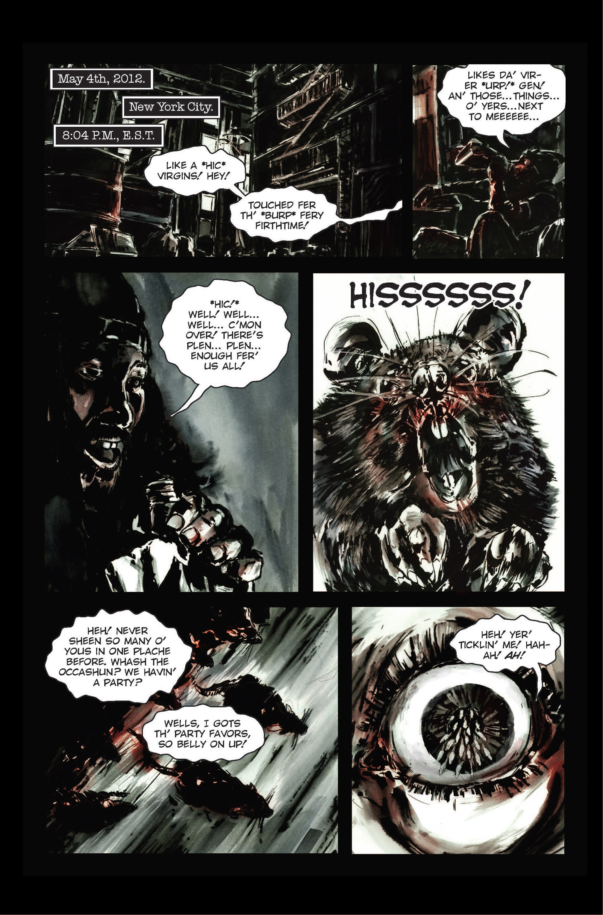Read online The Final Plague comic -  Issue #1 - 10