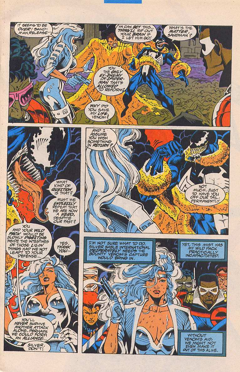 Read online Silver Sable and the Wild Pack comic -  Issue #19 - 7