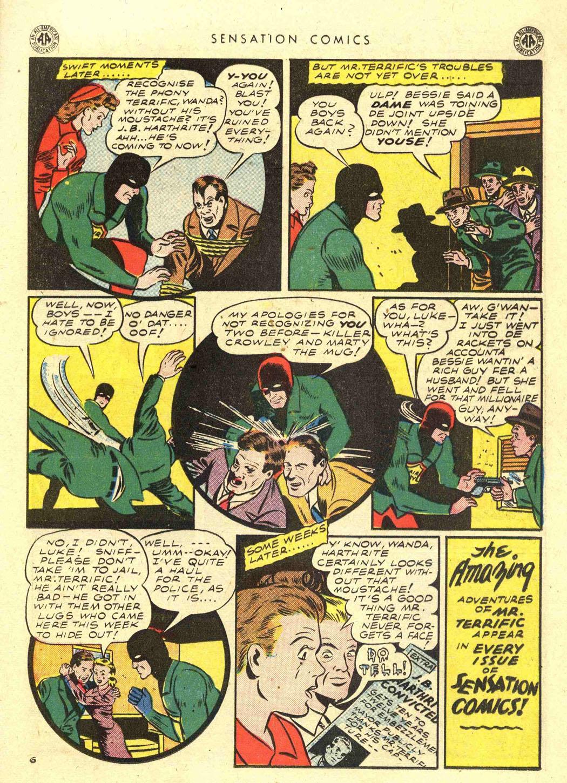 Read online Sensation (Mystery) Comics comic -  Issue #39 - 35