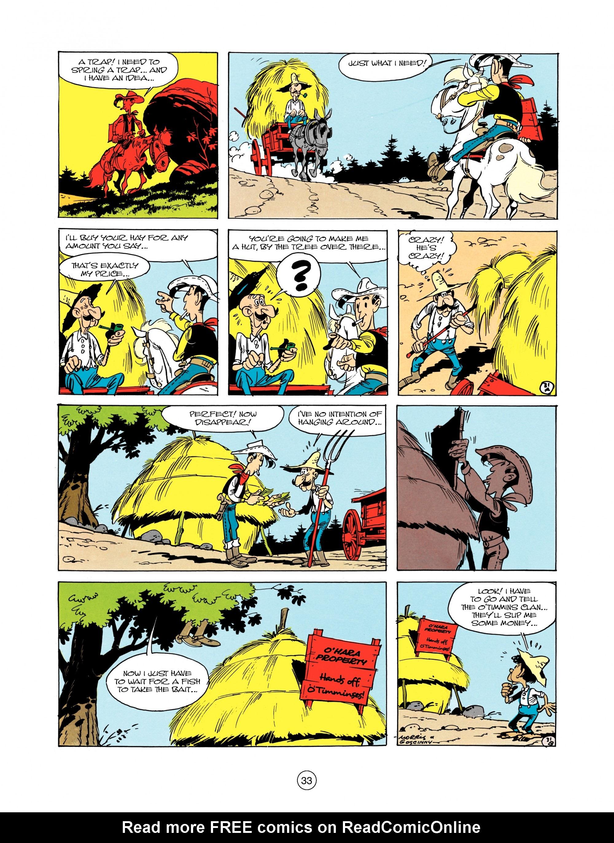 Read online A Lucky Luke Adventure comic -  Issue #12 - 33