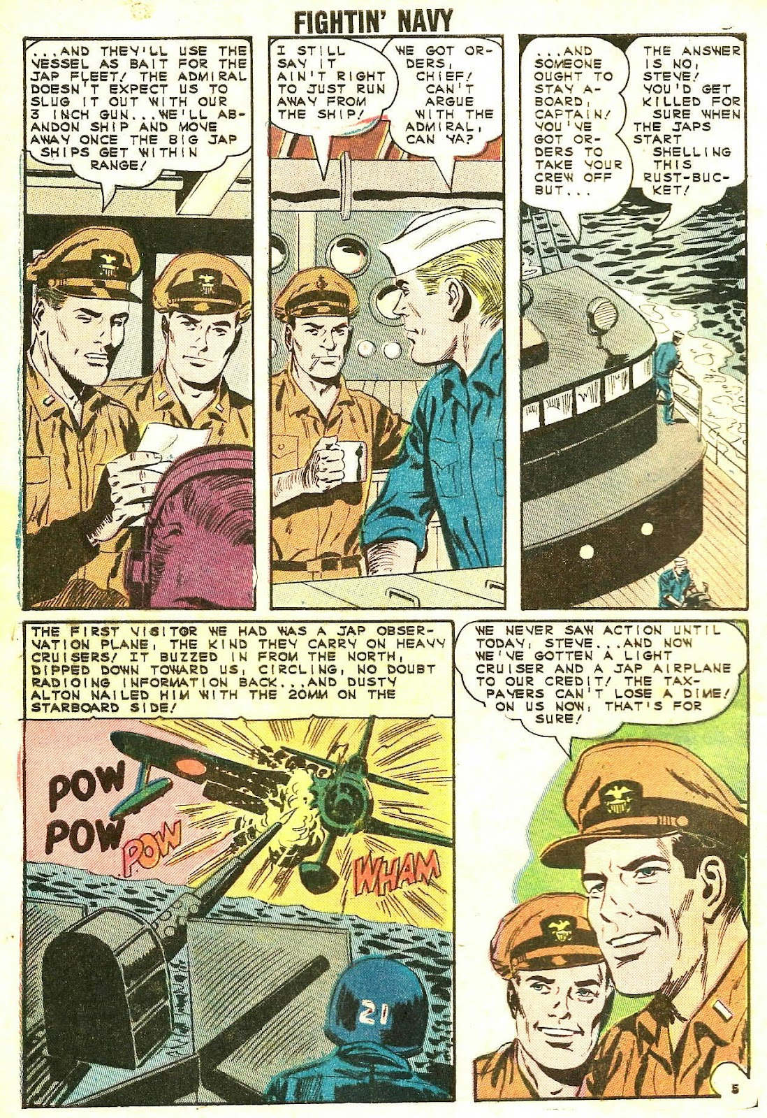 Read online Fightin' Navy comic -  Issue #118 - 8