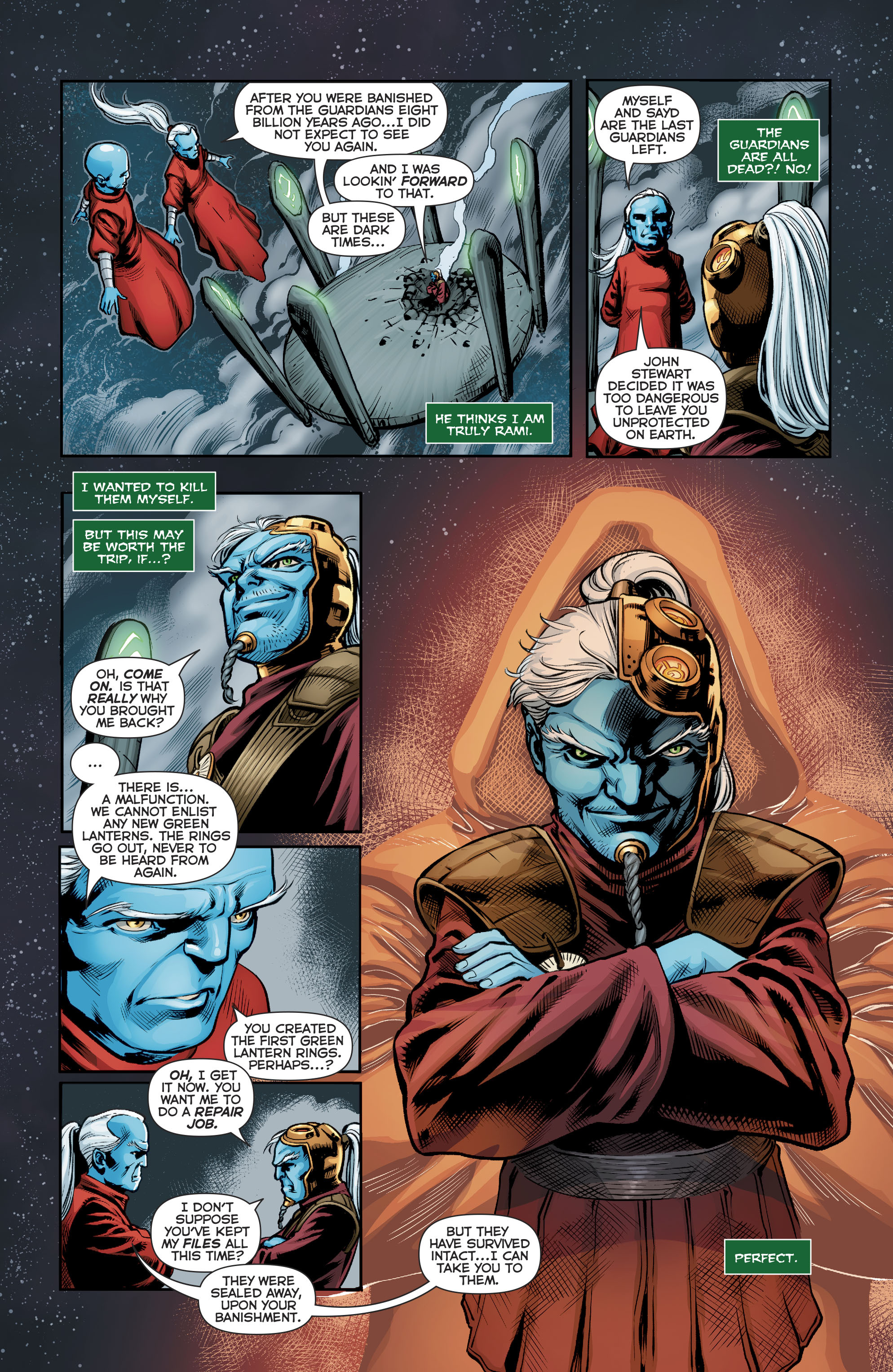 Read online Green Lanterns comic -  Issue #22 - 19