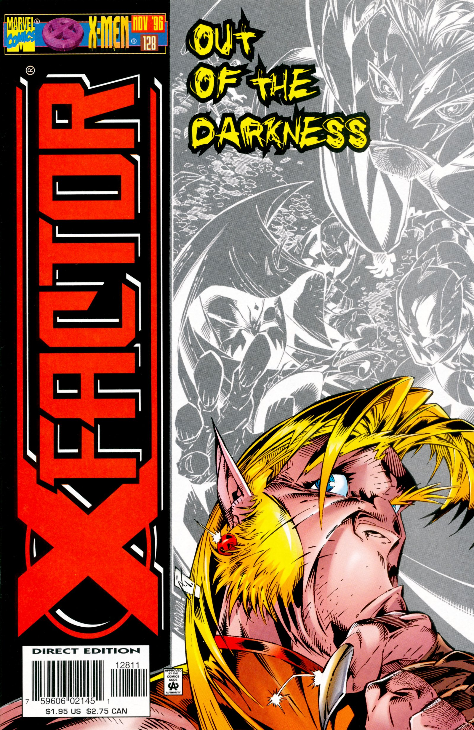 Read online X-Factor (1986) comic -  Issue #128 - 1