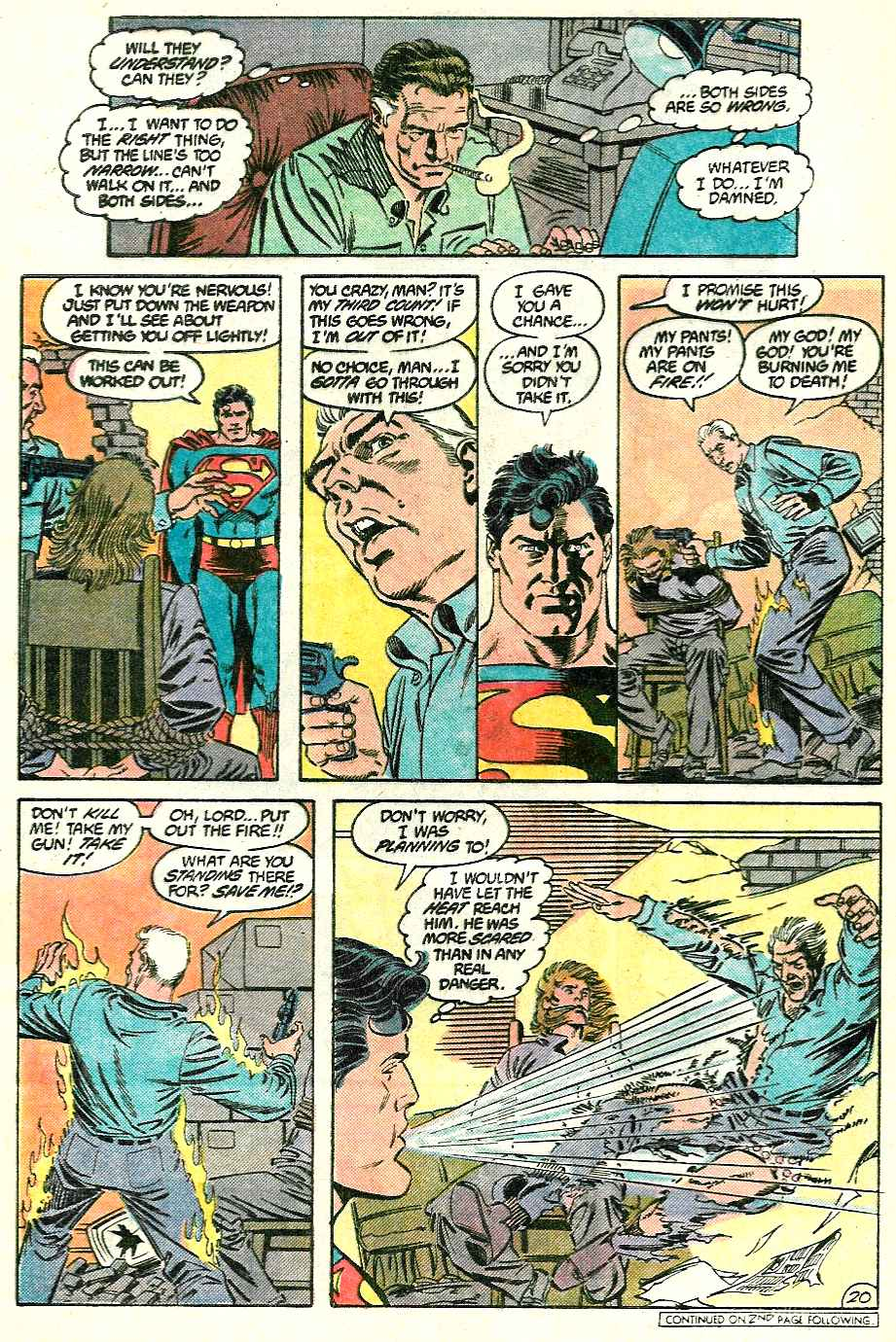 Read online Adventures of Superman (1987) comic -  Issue #428 - 20
