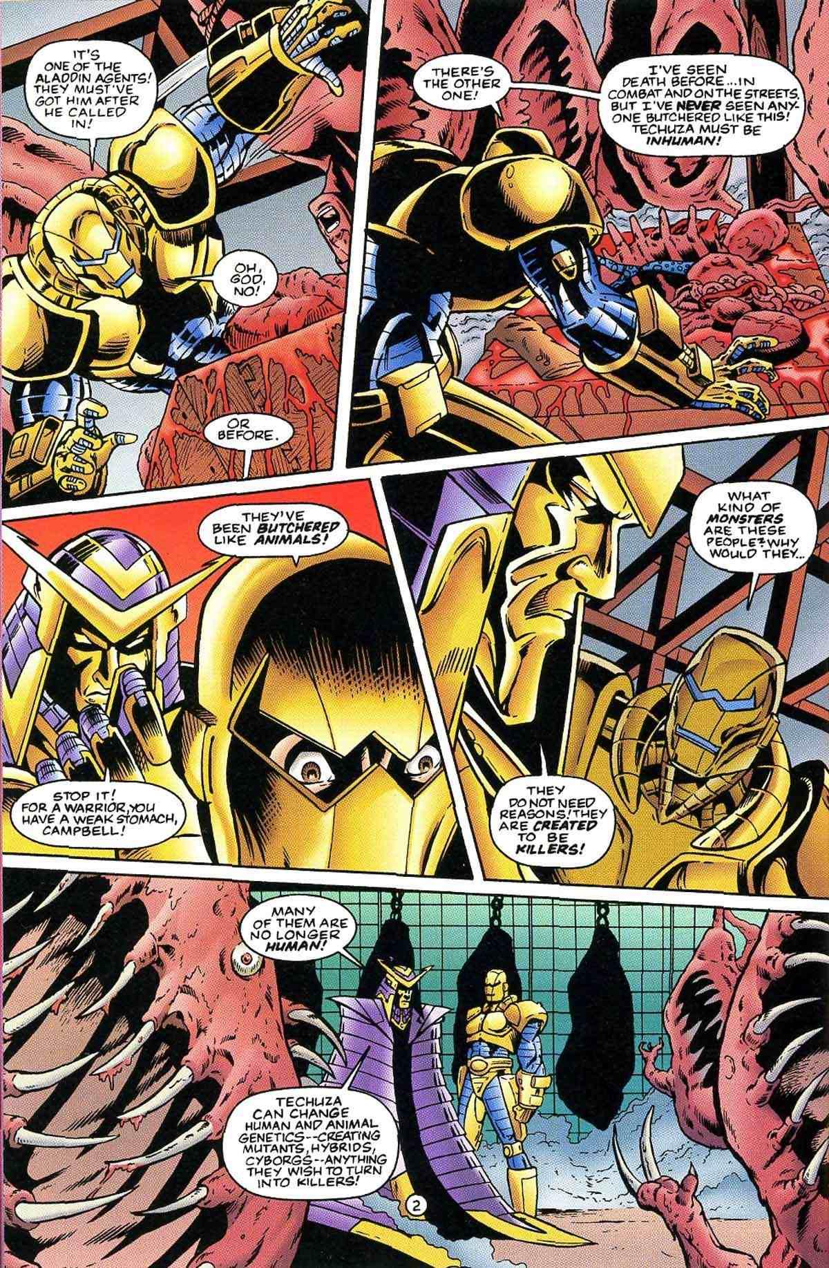 Read online Ultraverse Premiere comic -  Issue #10 - 35