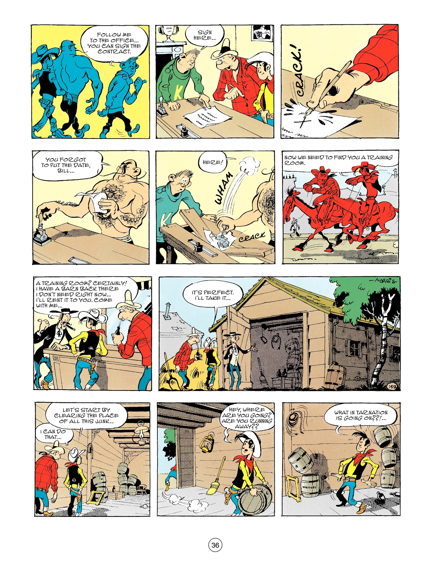 Read online A Lucky Luke Adventure comic -  Issue #56 - 36