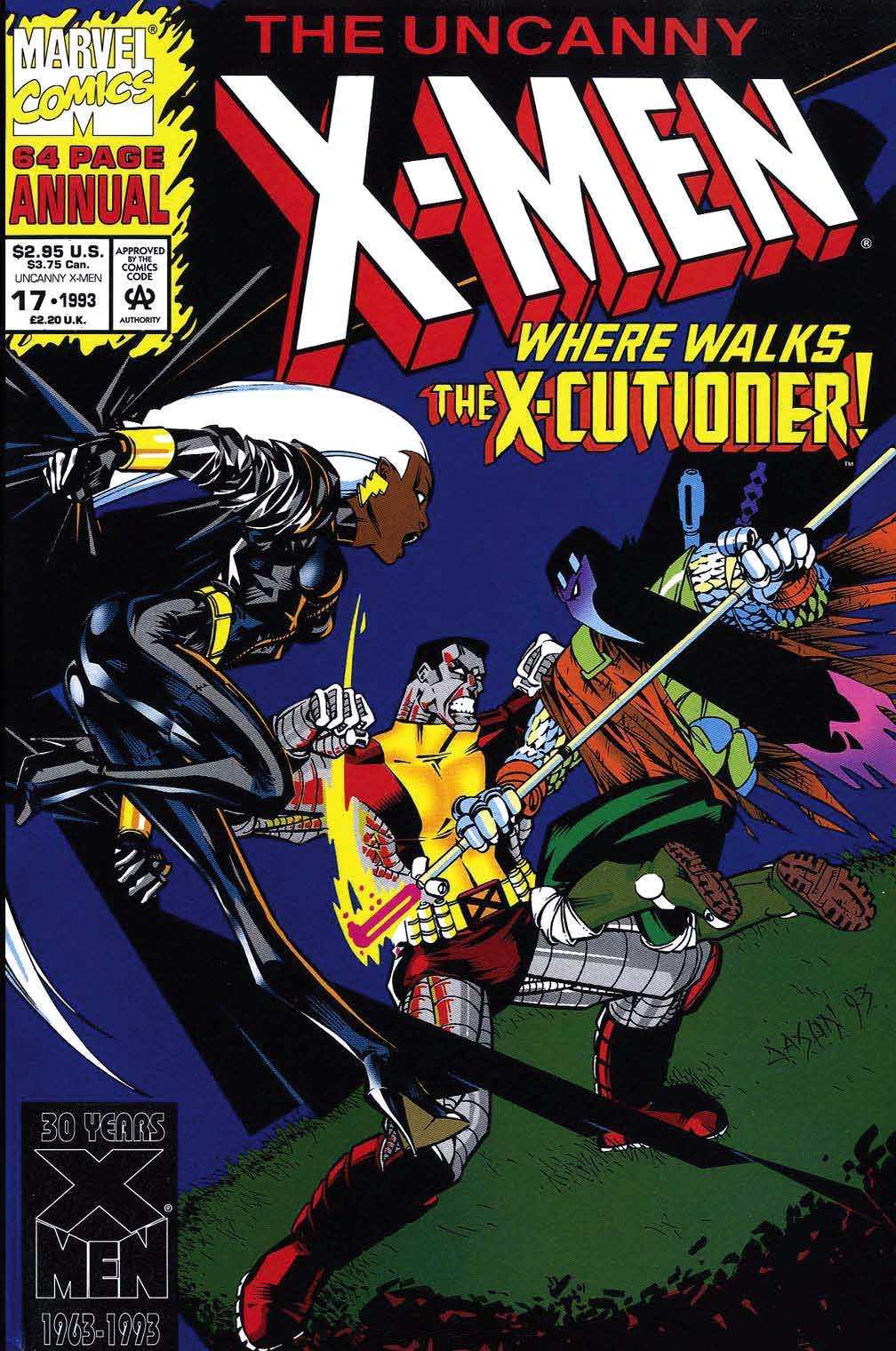 X-Men Annual 17 Page 1