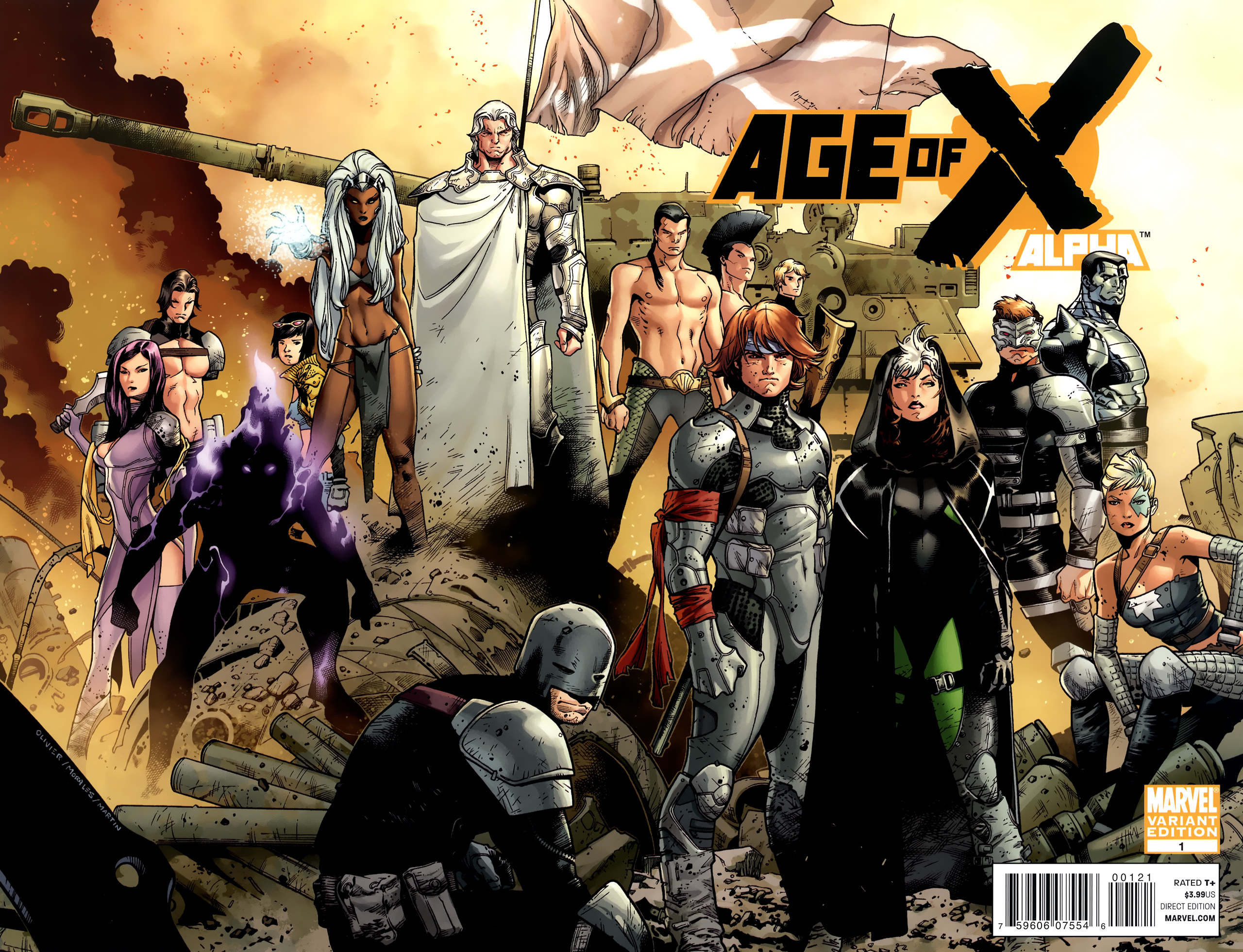 Read online Age of X: Alpha comic -  Issue #Age of X: Alpha Full - 2