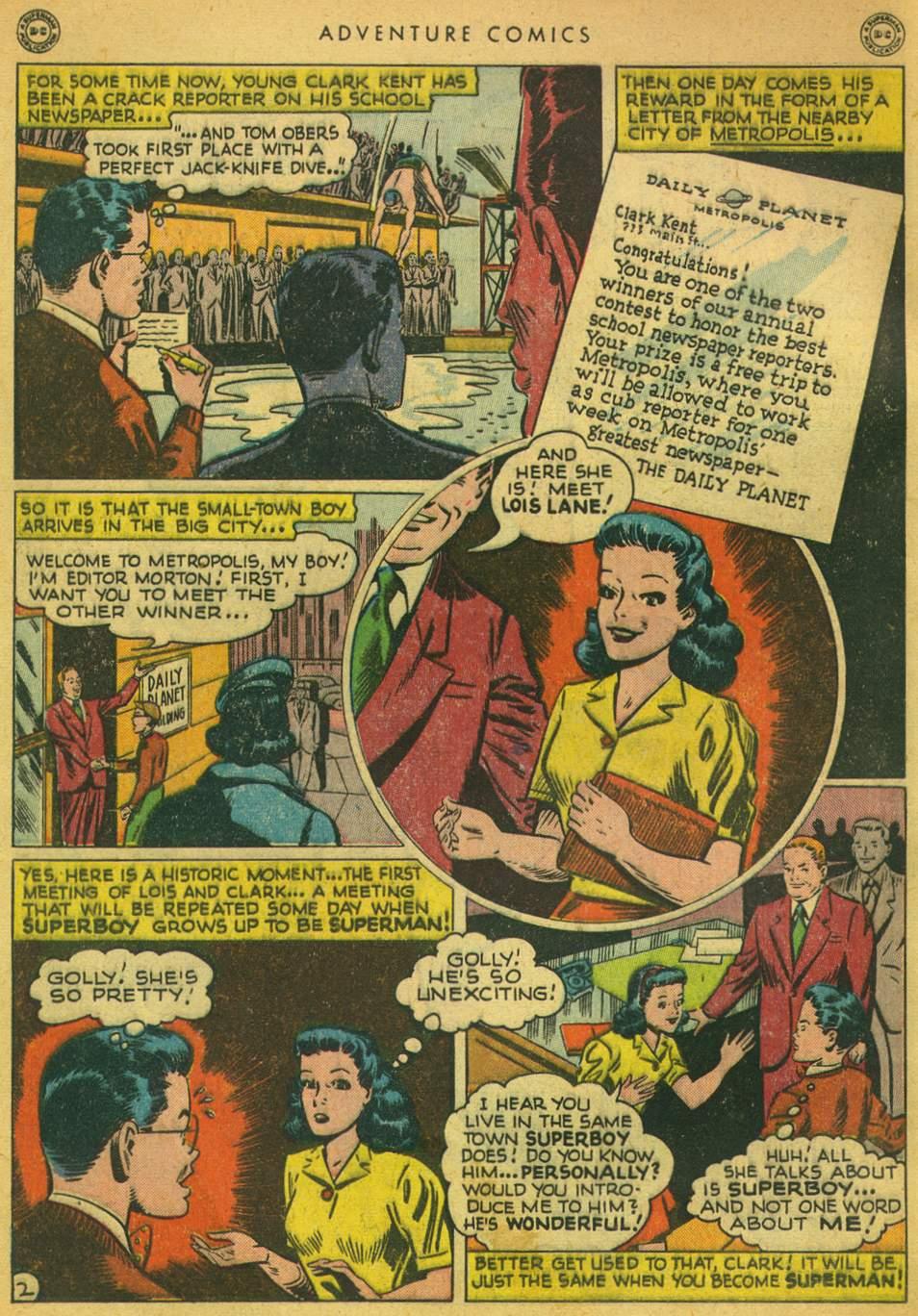 Read online Adventure Comics (1938) comic -  Issue #128 - 3