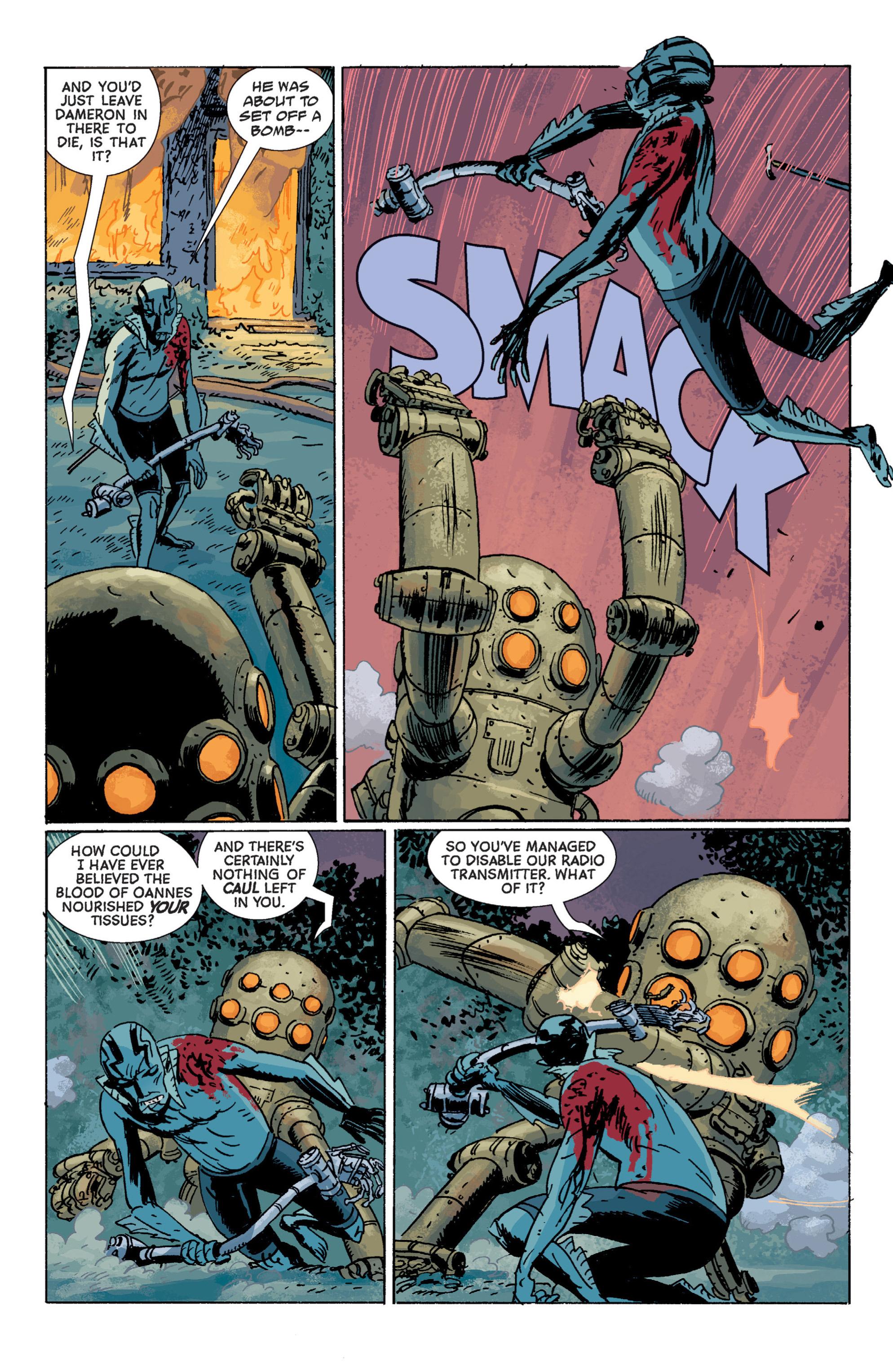 Read online B.P.R.D. (2003) comic -  Issue # TPB 7 - 122