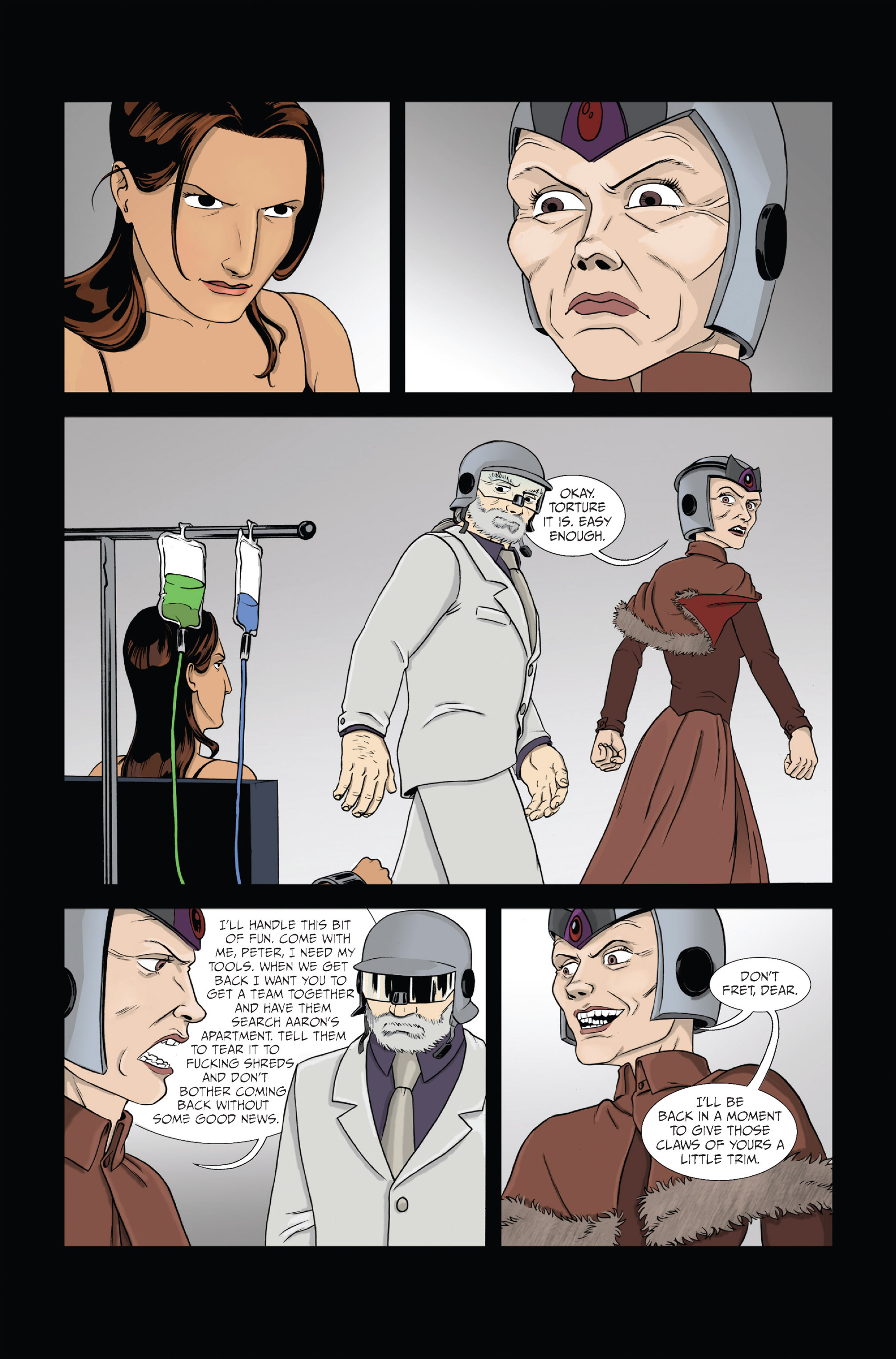 Read online Ehmm Theory: Everything & Small Doses comic -  Issue #1 - 5