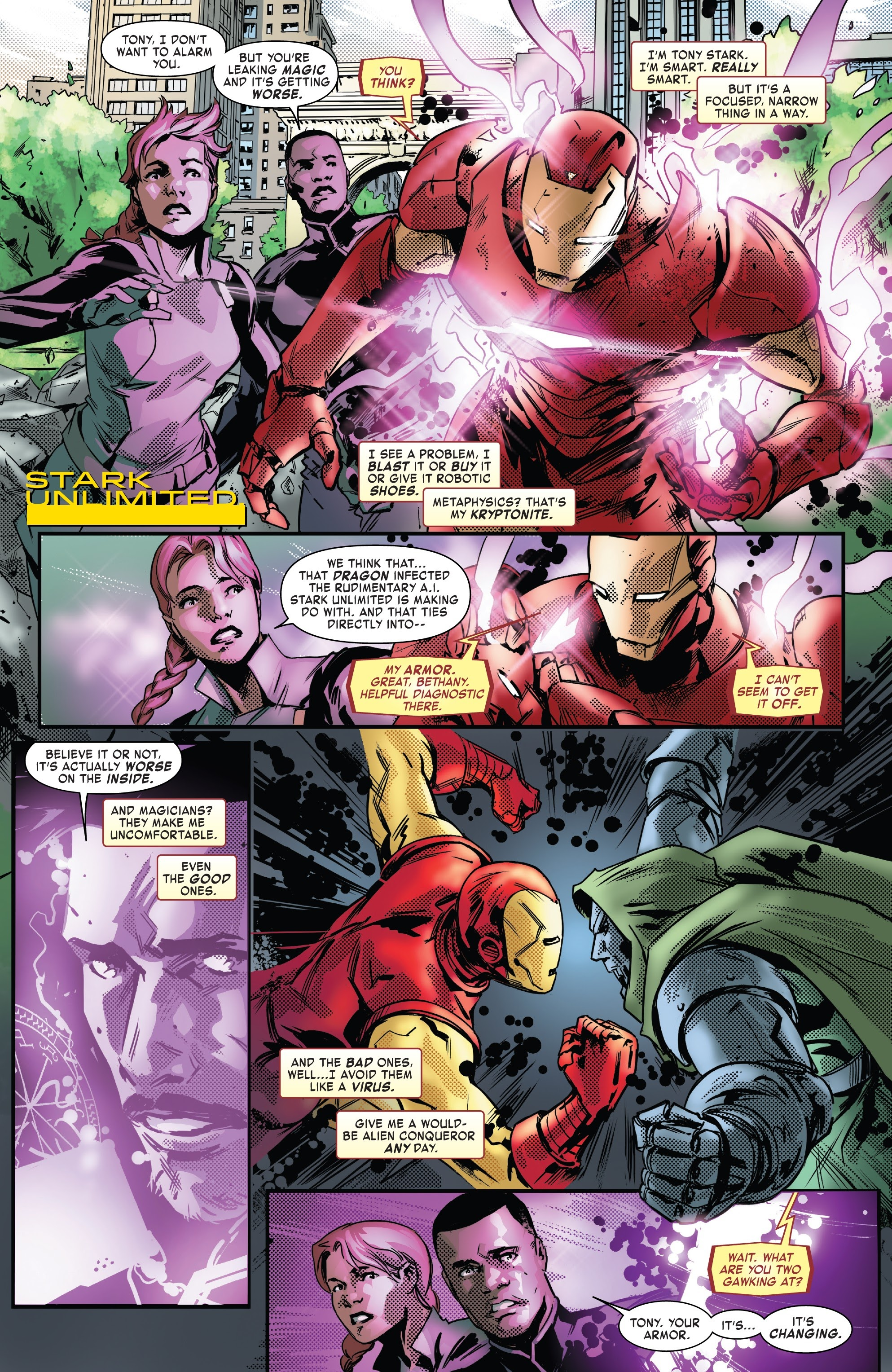 Read online Tony Stark: Iron Man comic -  Issue #13 - 6