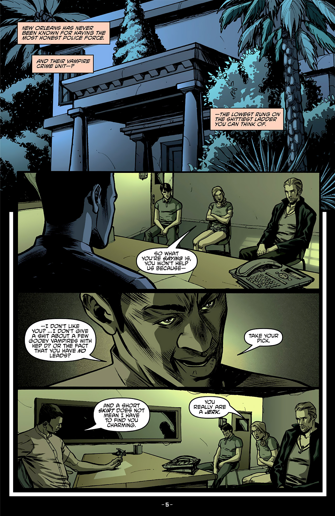 Read online True Blood: French Quarter comic -  Issue #4 - 10
