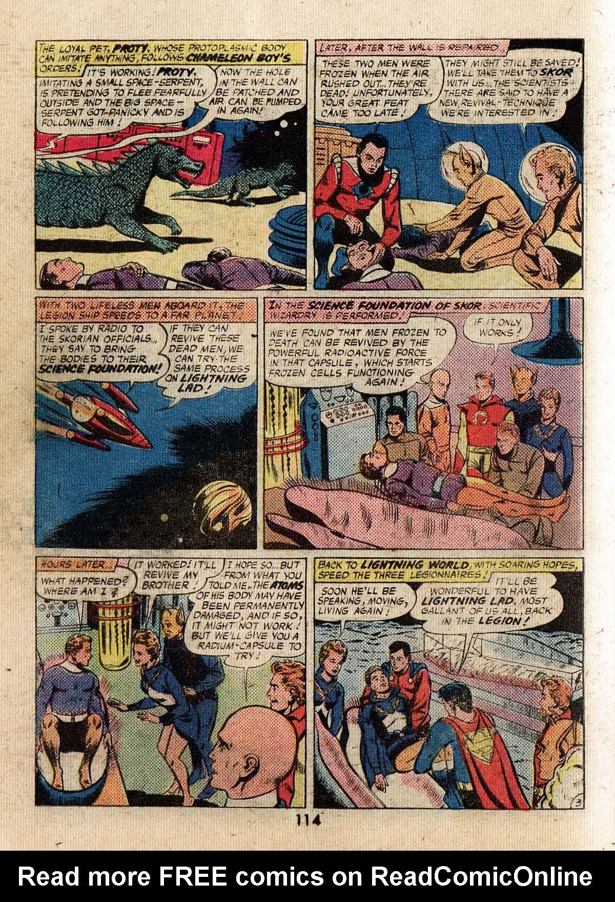 Read online Adventure Comics (1938) comic -  Issue #500 - 114