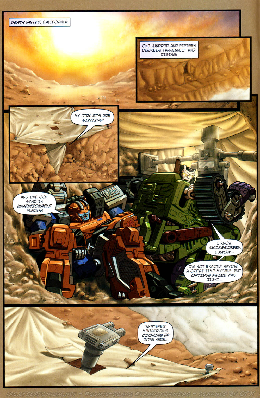 Read online Transformers Armada comic -  Issue #12 - 4