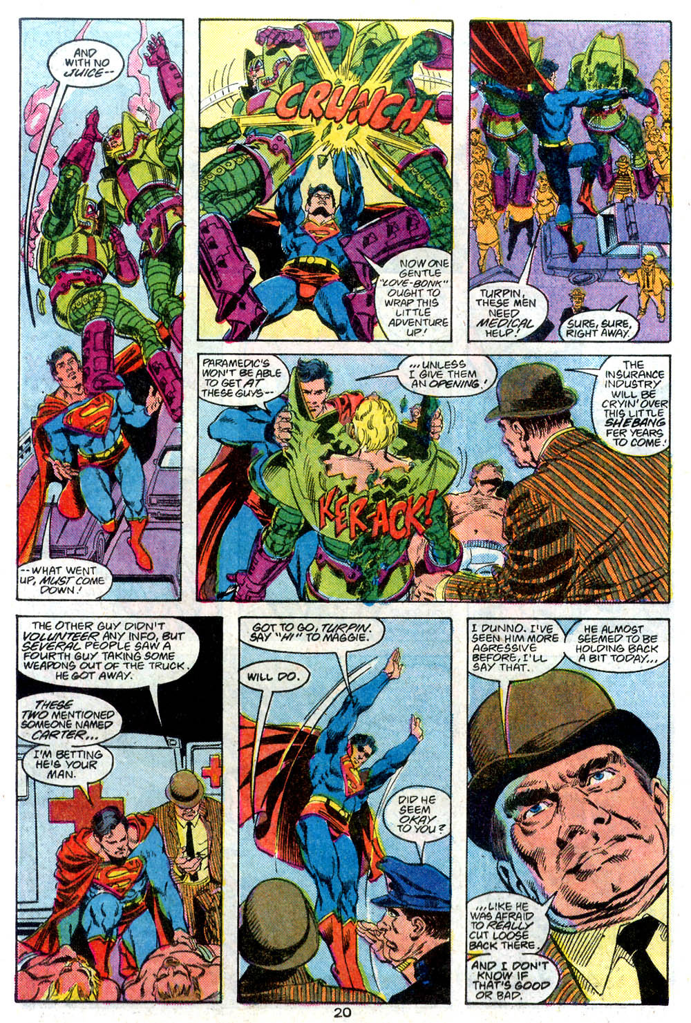 Read online Adventures of Superman (1987) comic -  Issue #446 - 21