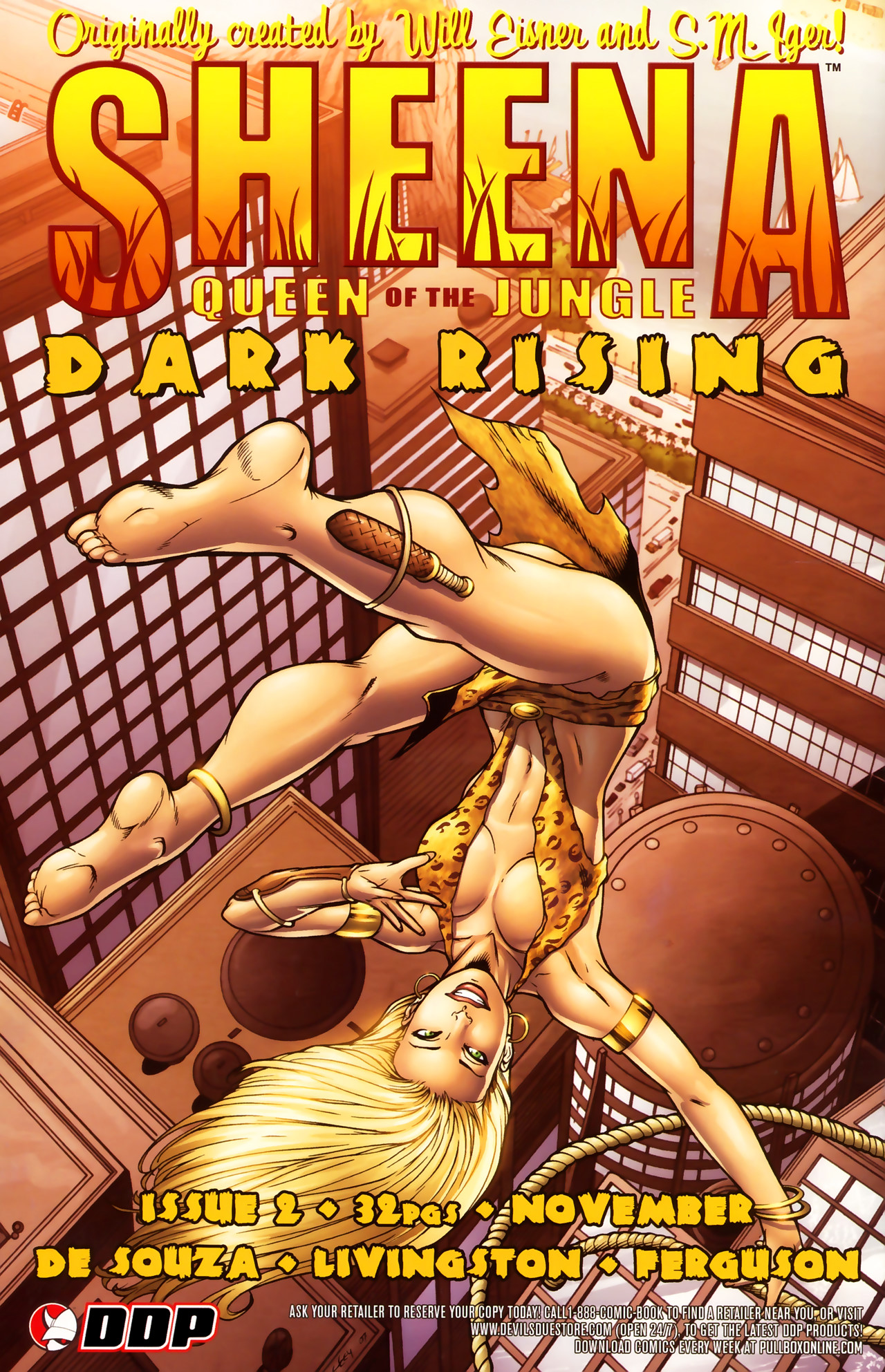 Read online Sheena Queen of the Jungle: Dark Rising comic -  Issue #1 - 25